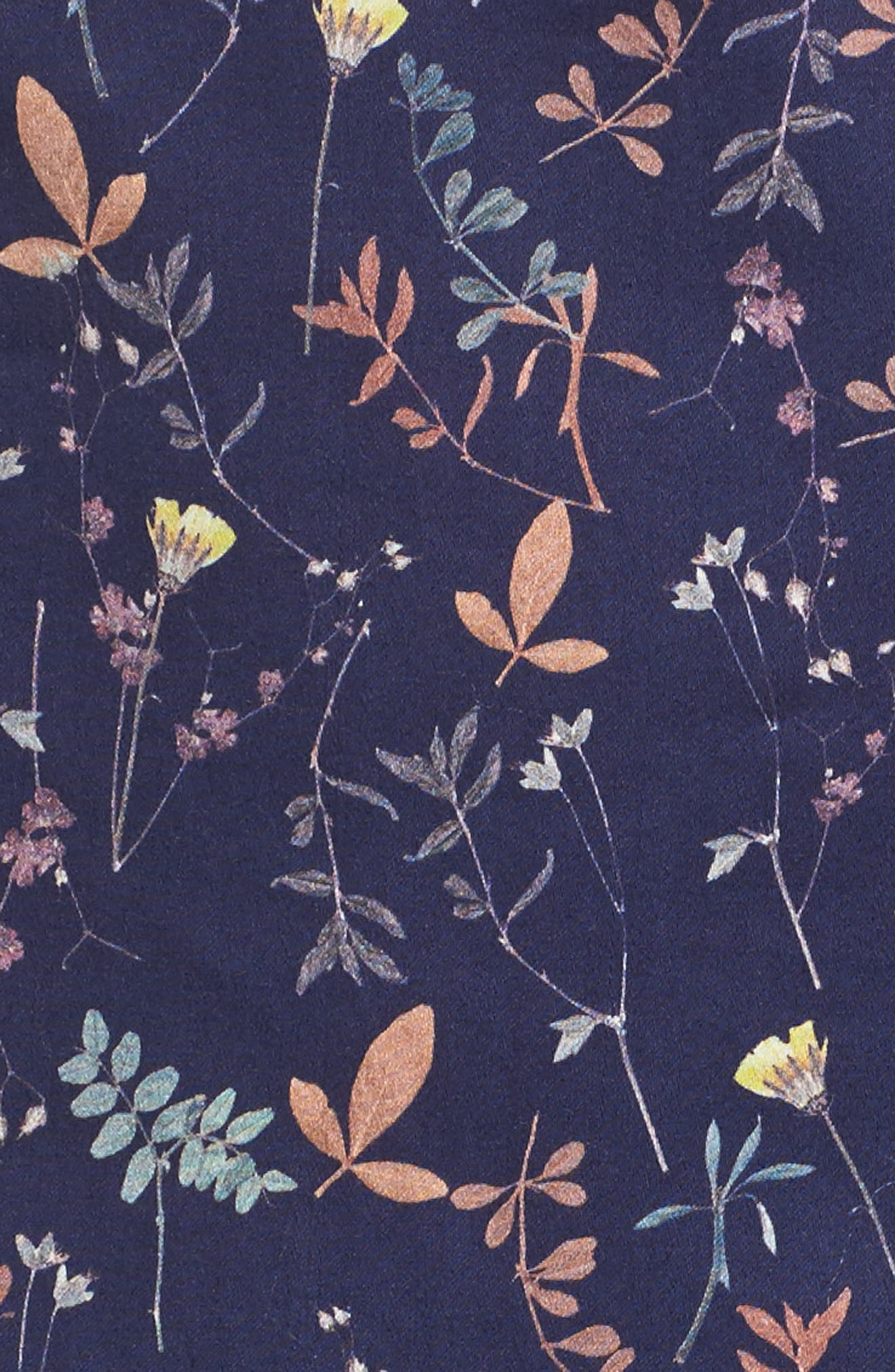 Halter Fit & Flare Dress,                             Alternate thumbnail 5, color,                             400