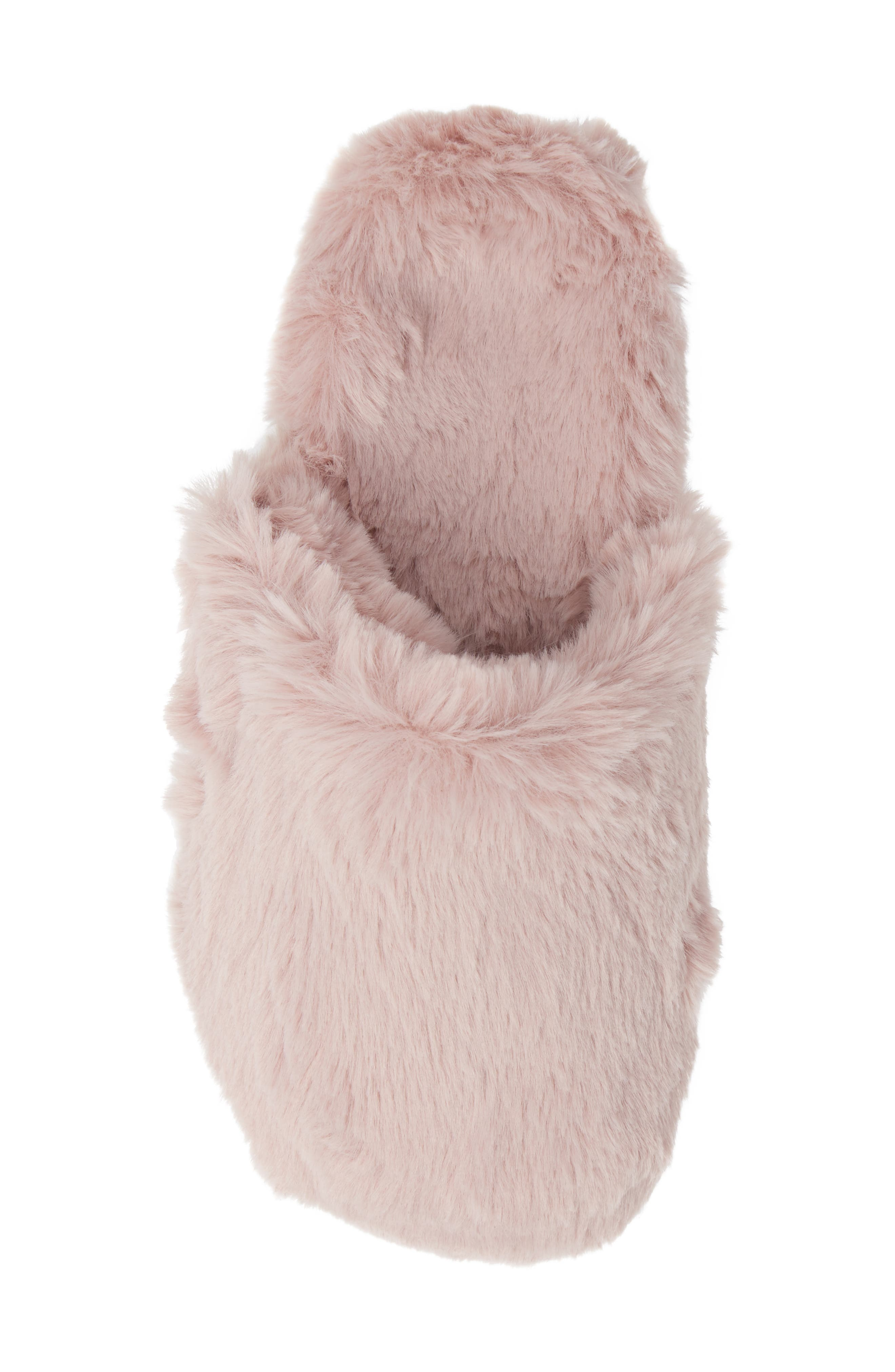 Gemma Plush Slipper,                             Alternate thumbnail 5, color,                             BLUSH