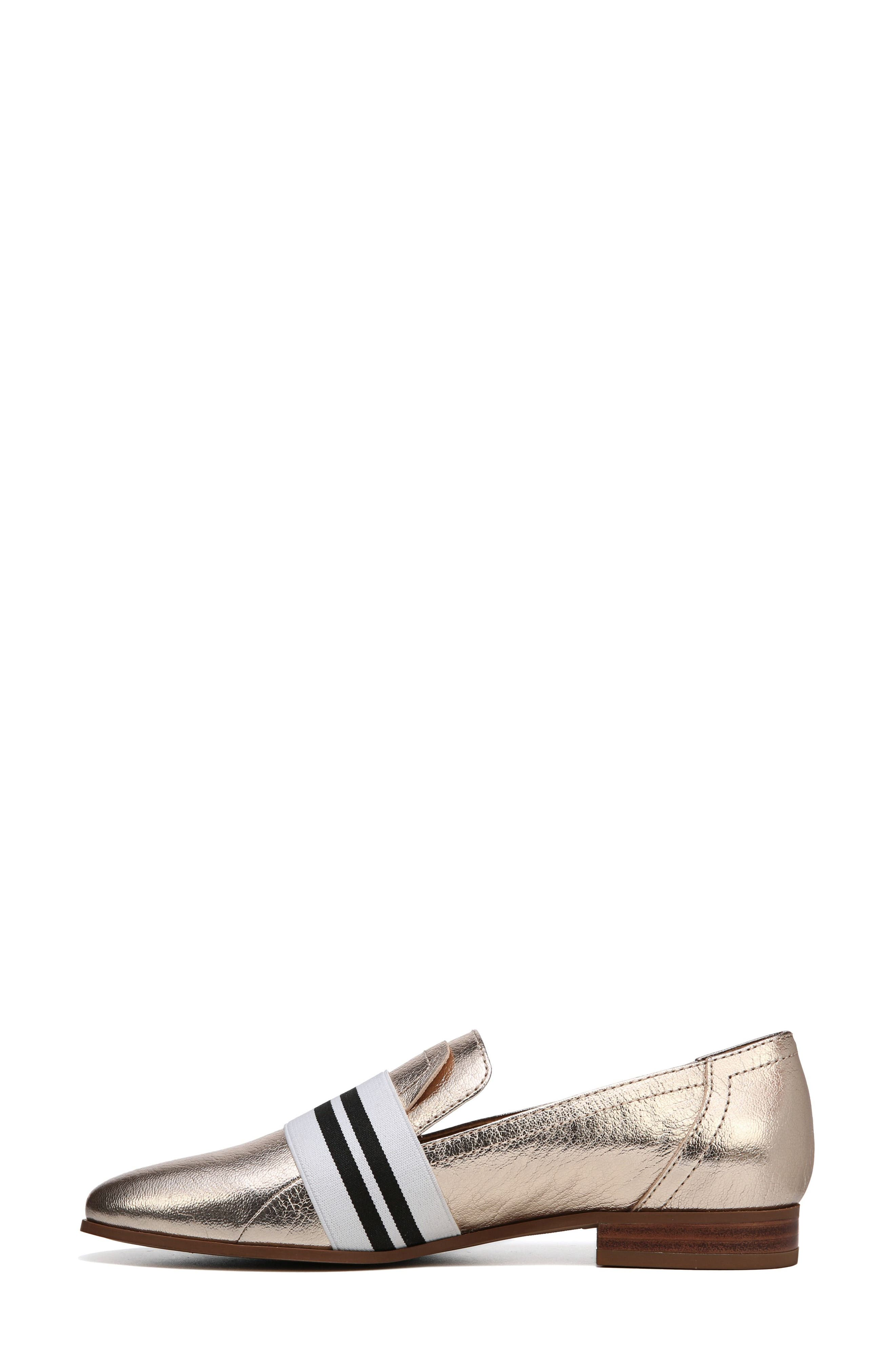 Odyssey Loafer,                             Alternate thumbnail 3, color,                             PLATINO LEATHER