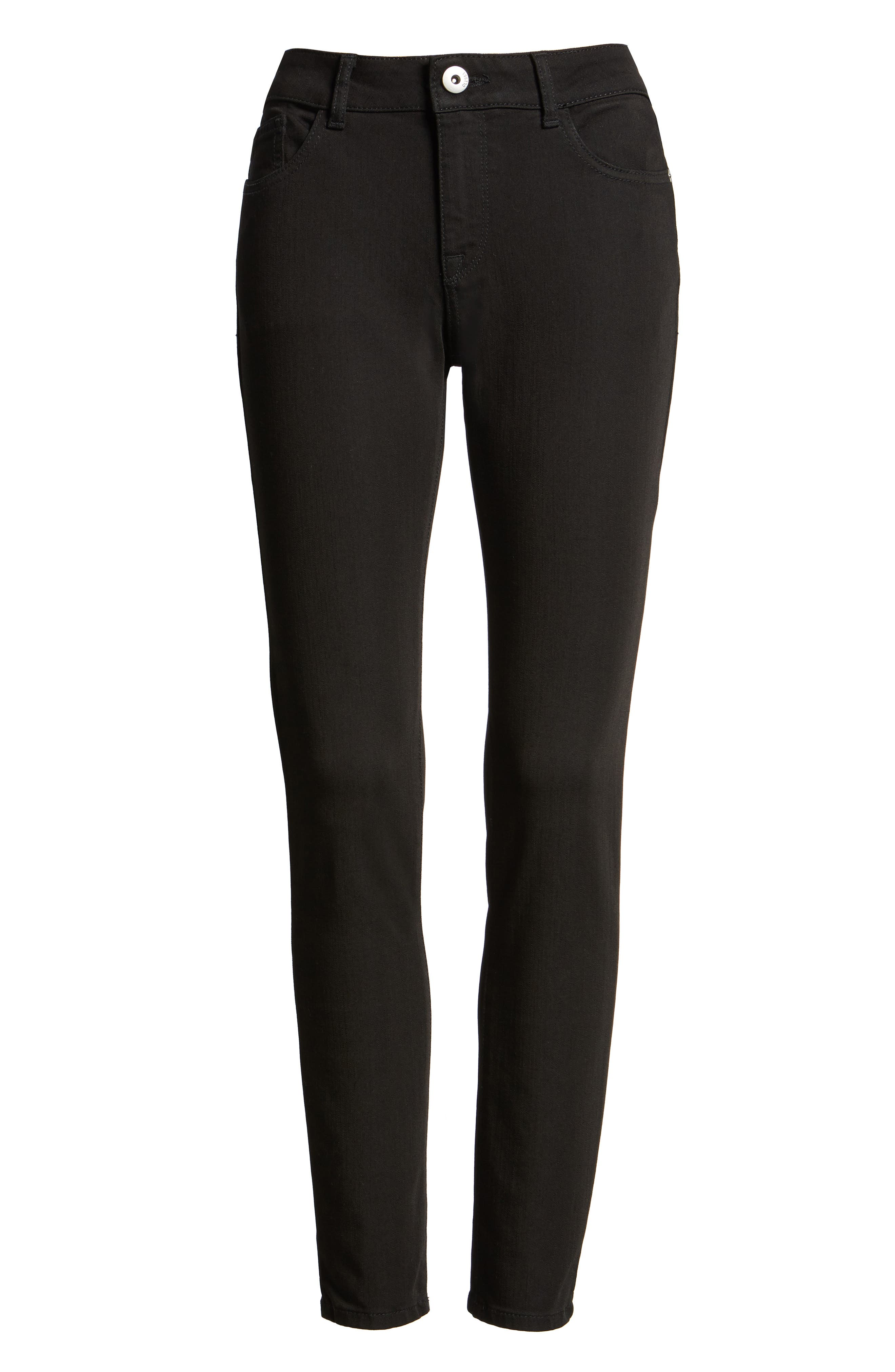 'Florence' Instasculpt Skinny Jeans,                             Main thumbnail 1, color,                             001