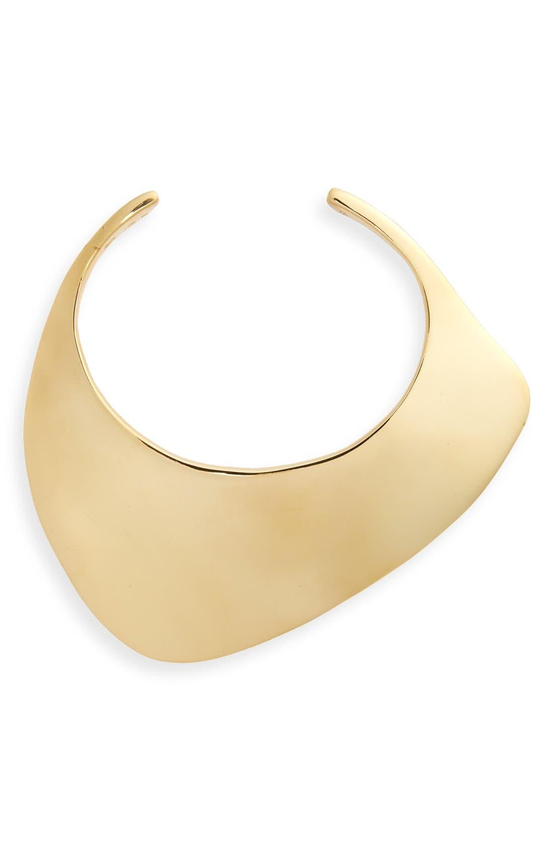 Large Ada Cuff Bracelet,                         Main,                         color, VERMEIL