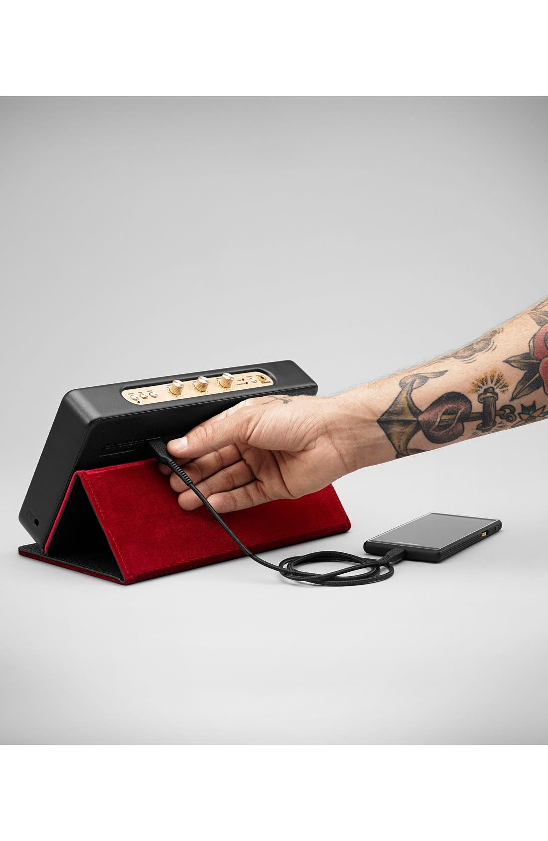 'Stockwell' Bluetooth<sup>®</sup> Speaker,                             Alternate thumbnail 6, color,                             001