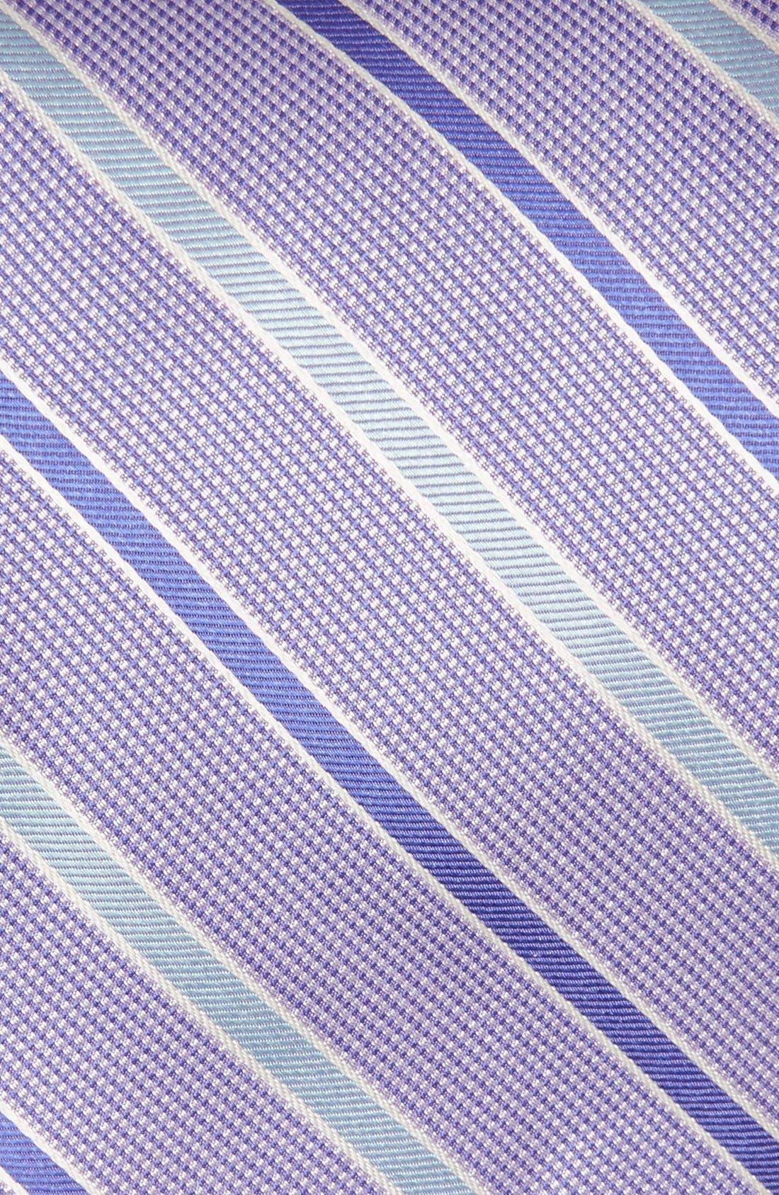 Stripe Woven Silk Tie,                             Alternate thumbnail 2, color,                             568