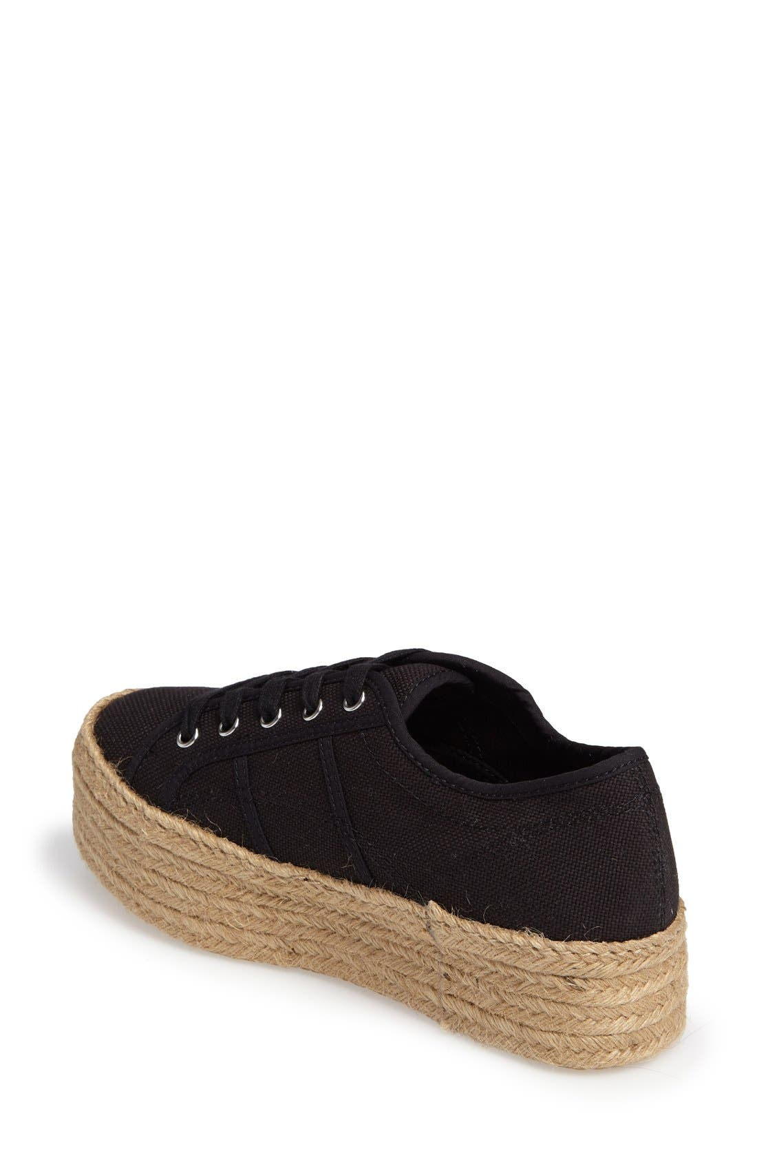 Hampton Platform Sneaker,                             Alternate thumbnail 6, color,                             007