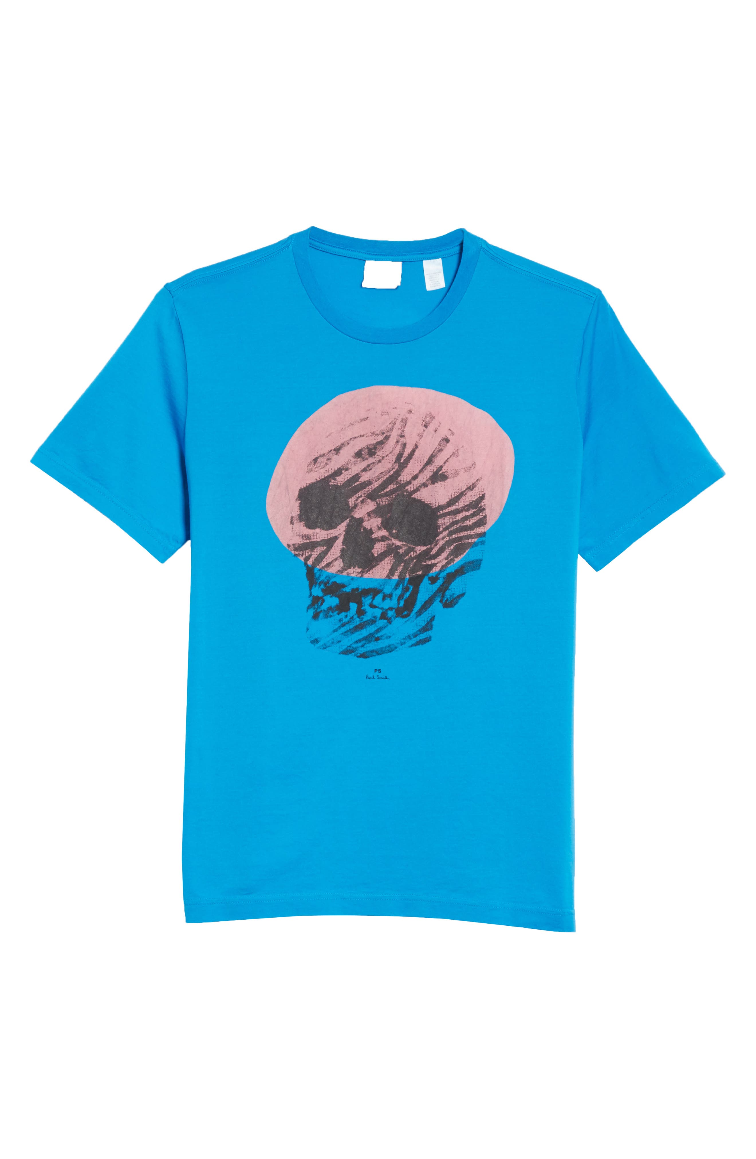 Skull Graphic T-Shirt,                             Alternate thumbnail 6, color,                             444