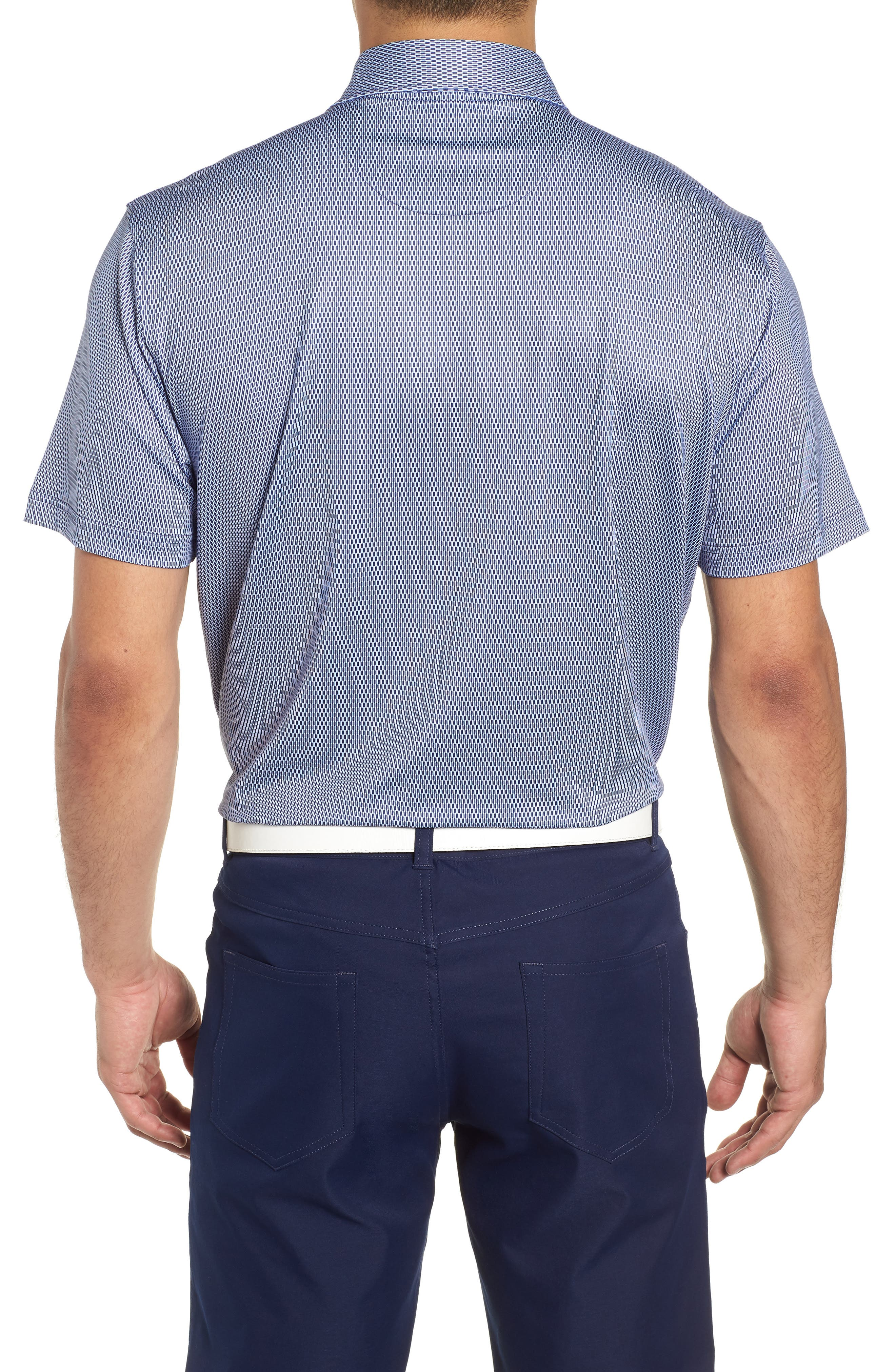 Latimer Classic Fit Links Print Golf Polo,                             Alternate thumbnail 2, color,                             410