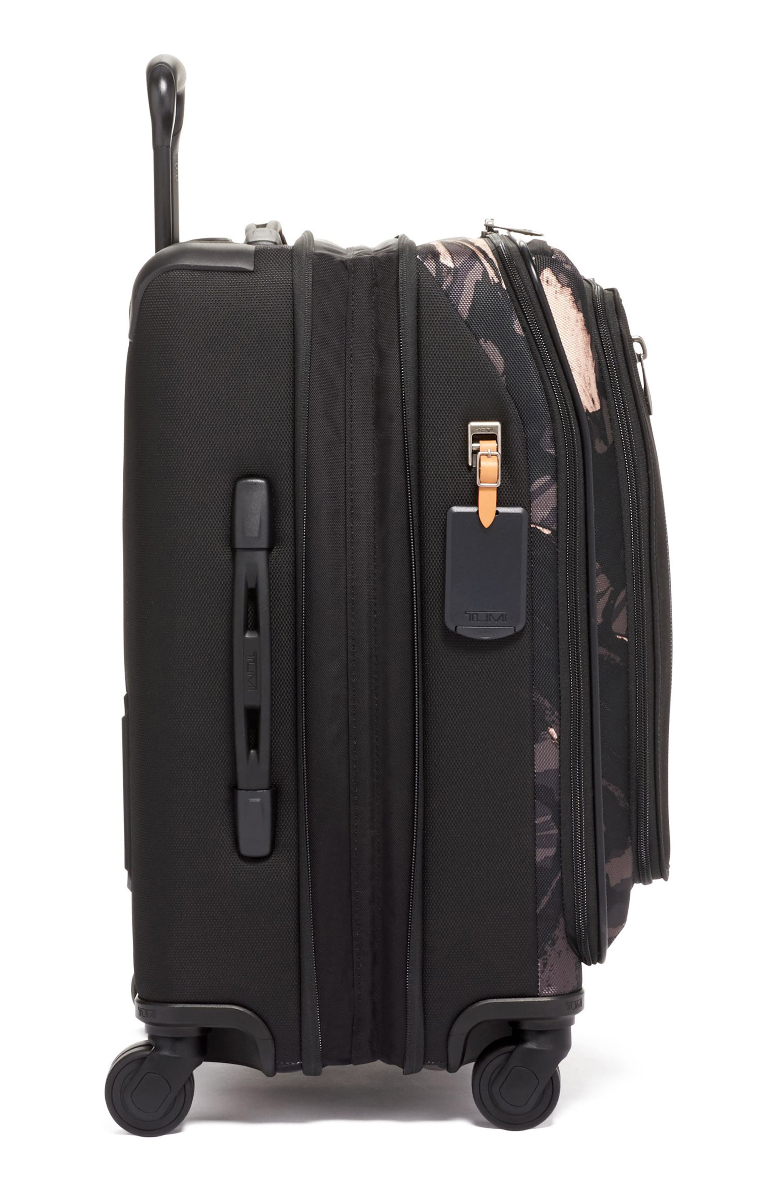 Merge 22-Inch International Expandable Rolling Carry-On,                             Alternate thumbnail 3, color,                             GREY HIGHLANDS PRINT