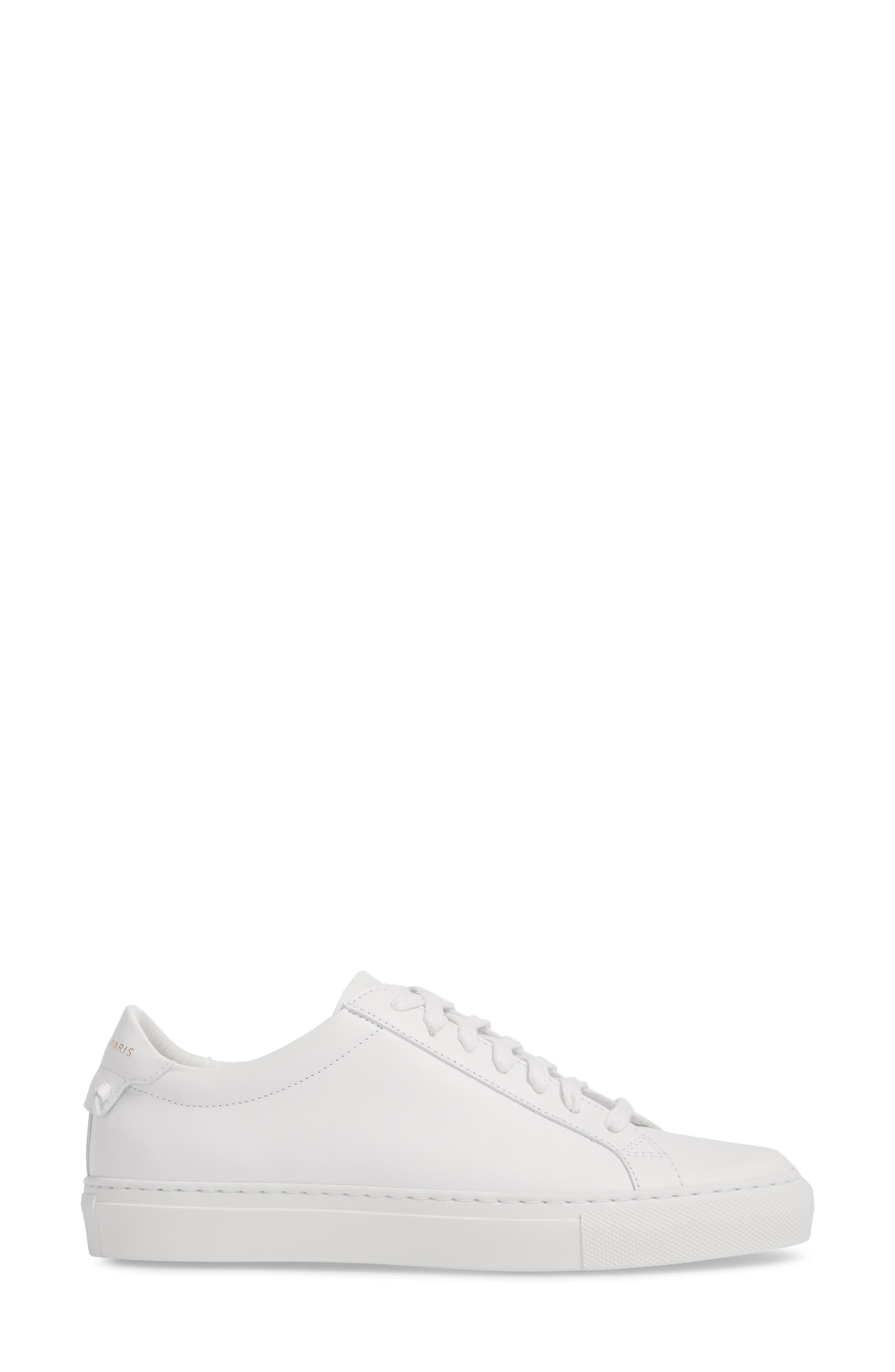 Low Top Sneaker,                             Alternate thumbnail 3, color,                             OPTIC WHITE