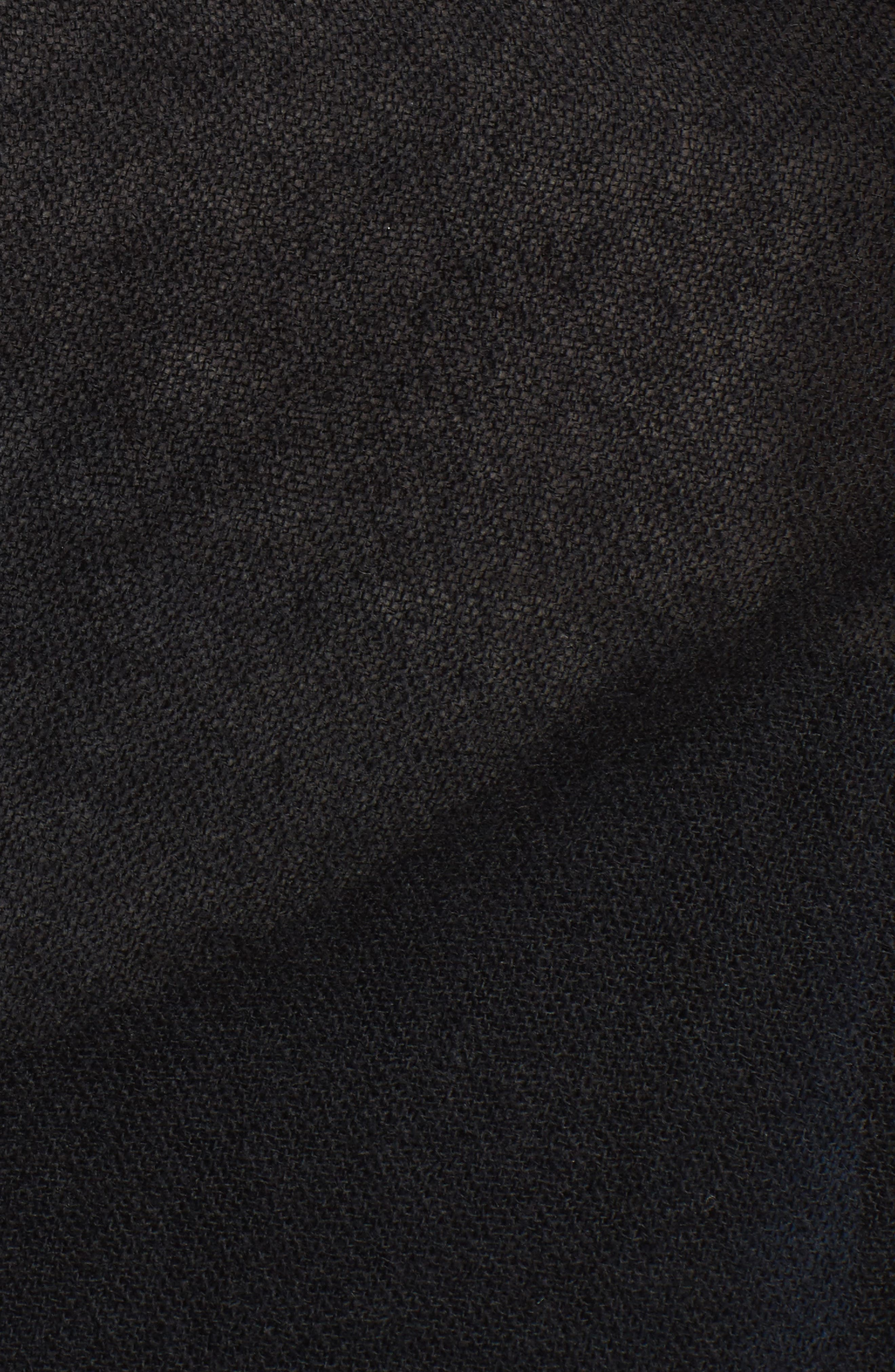Caslon<sup>®</sup> Heathered Cashmere Gauze Scarf,                             Alternate thumbnail 5, color,                             001
