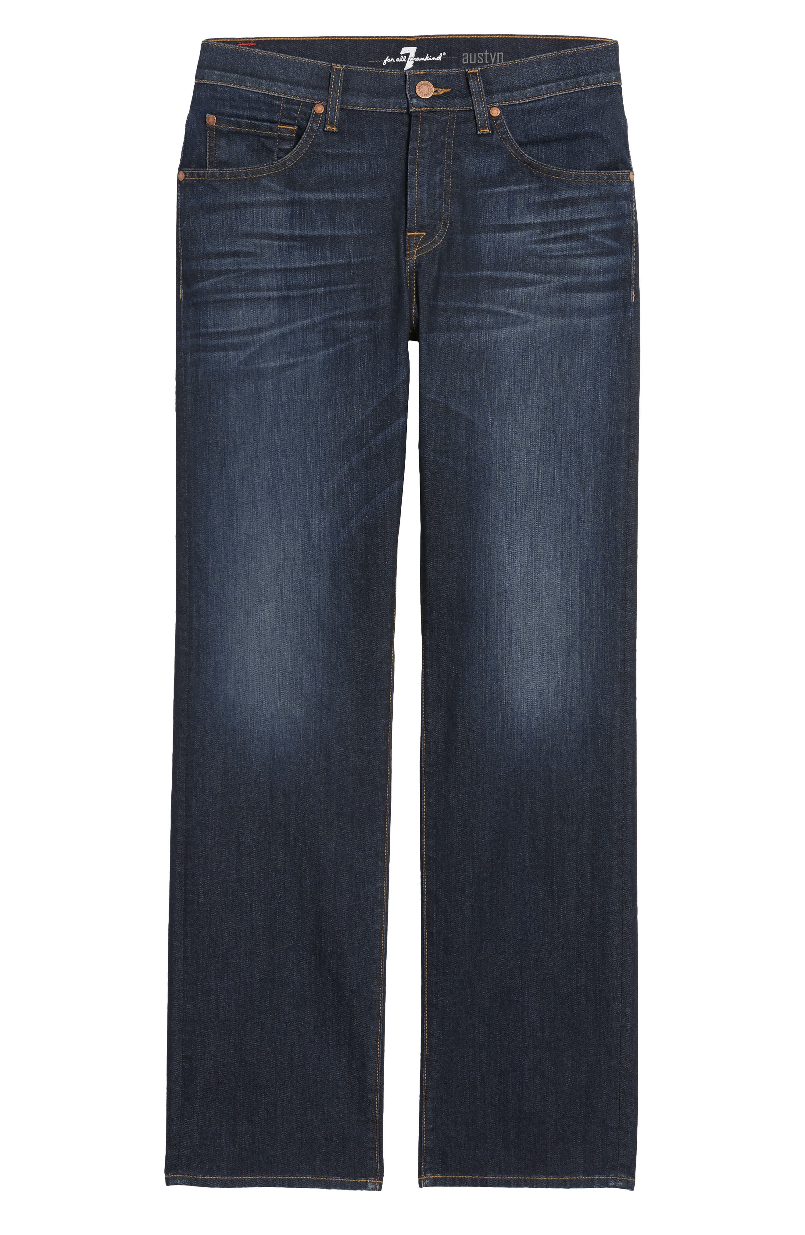 Airweft Austyn Relaxed Straight Leg Jeans,                             Alternate thumbnail 6, color,                             400