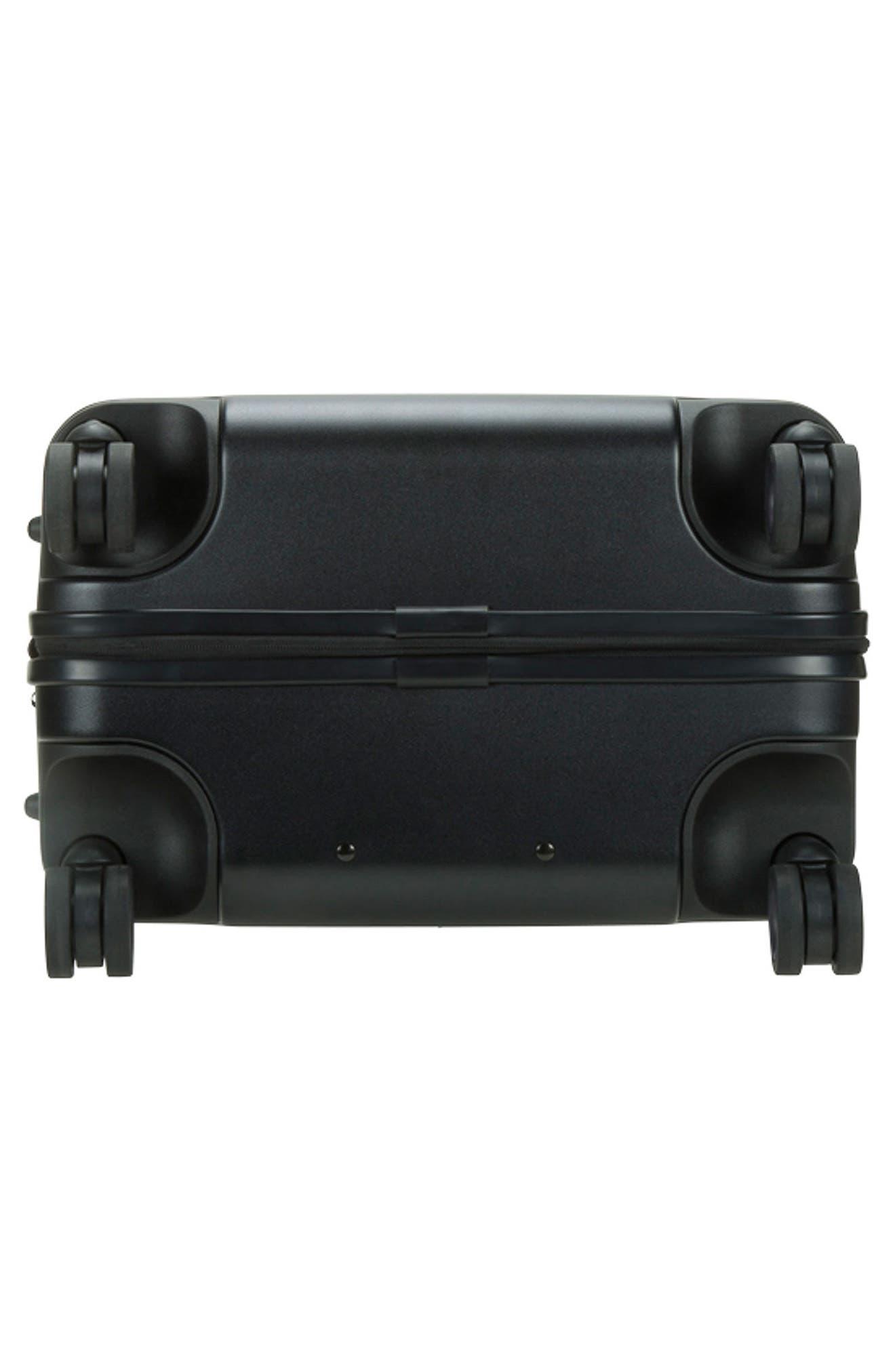 NOVI 31-Inch Hardshell Wheeled Packing Case,                             Alternate thumbnail 8, color,                             BLACK