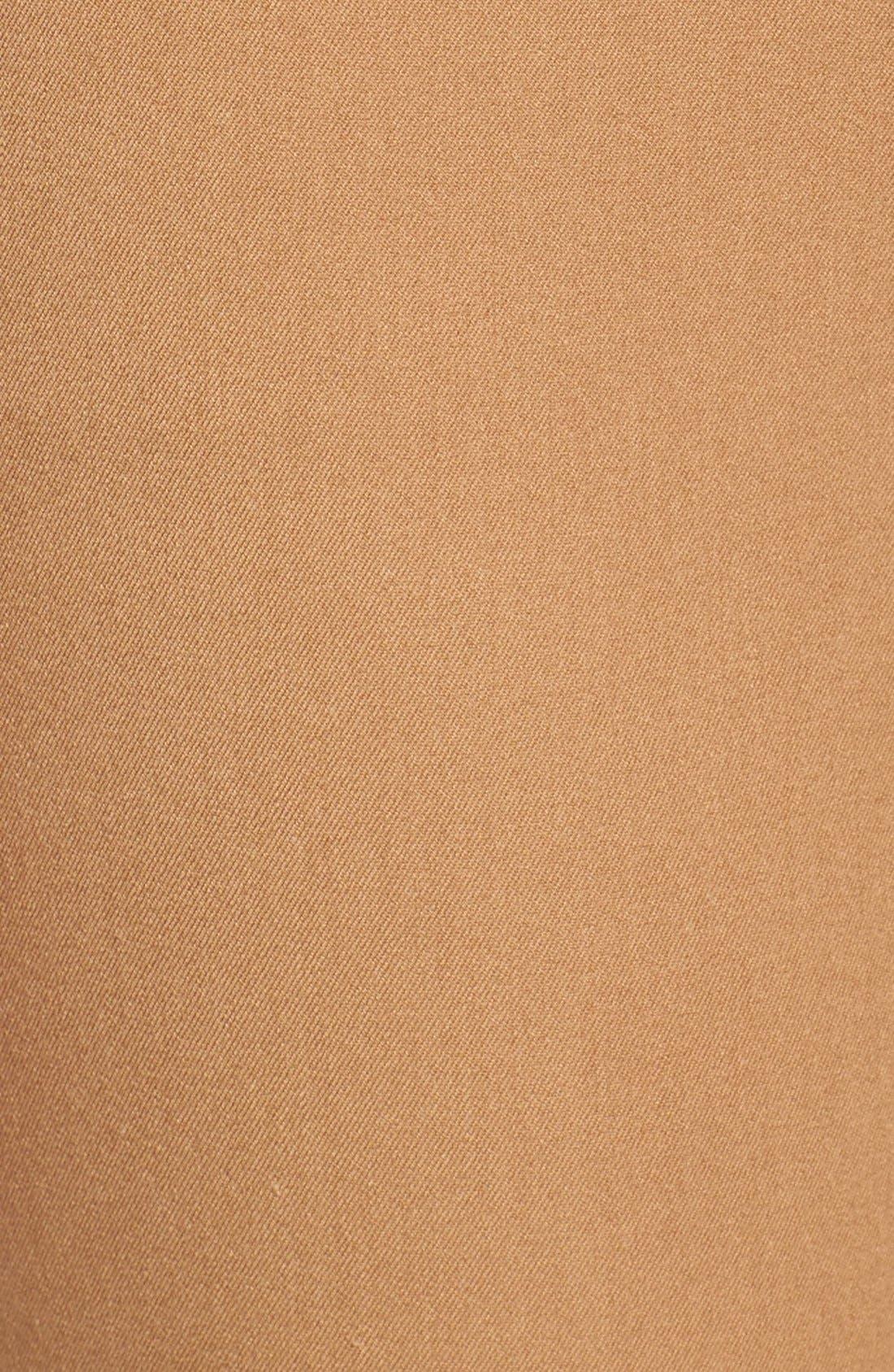 Crop Stretch Cotton Pants,                             Alternate thumbnail 95, color,