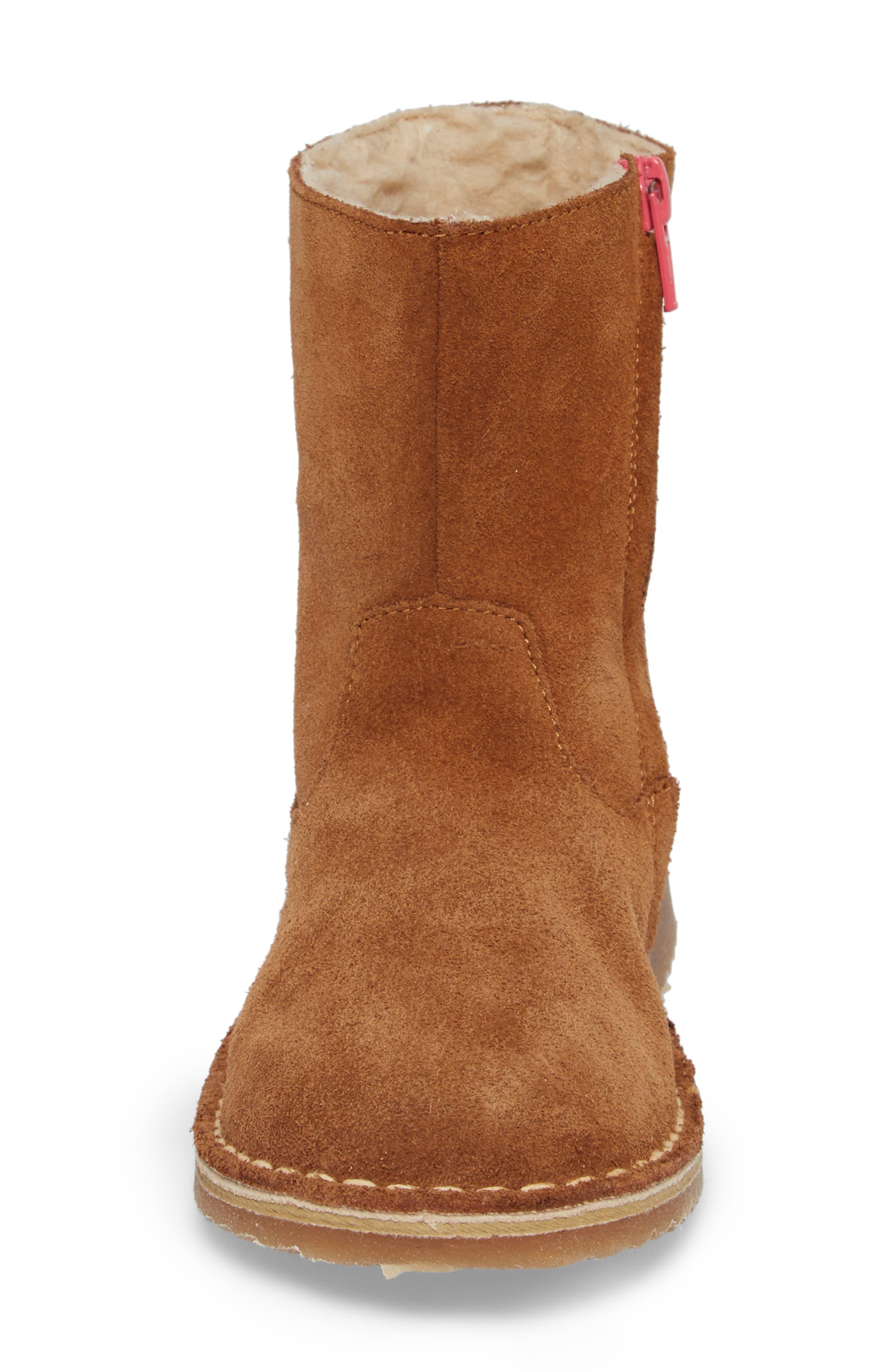 Faux Fur Lined Boot,                             Alternate thumbnail 4, color,                             234