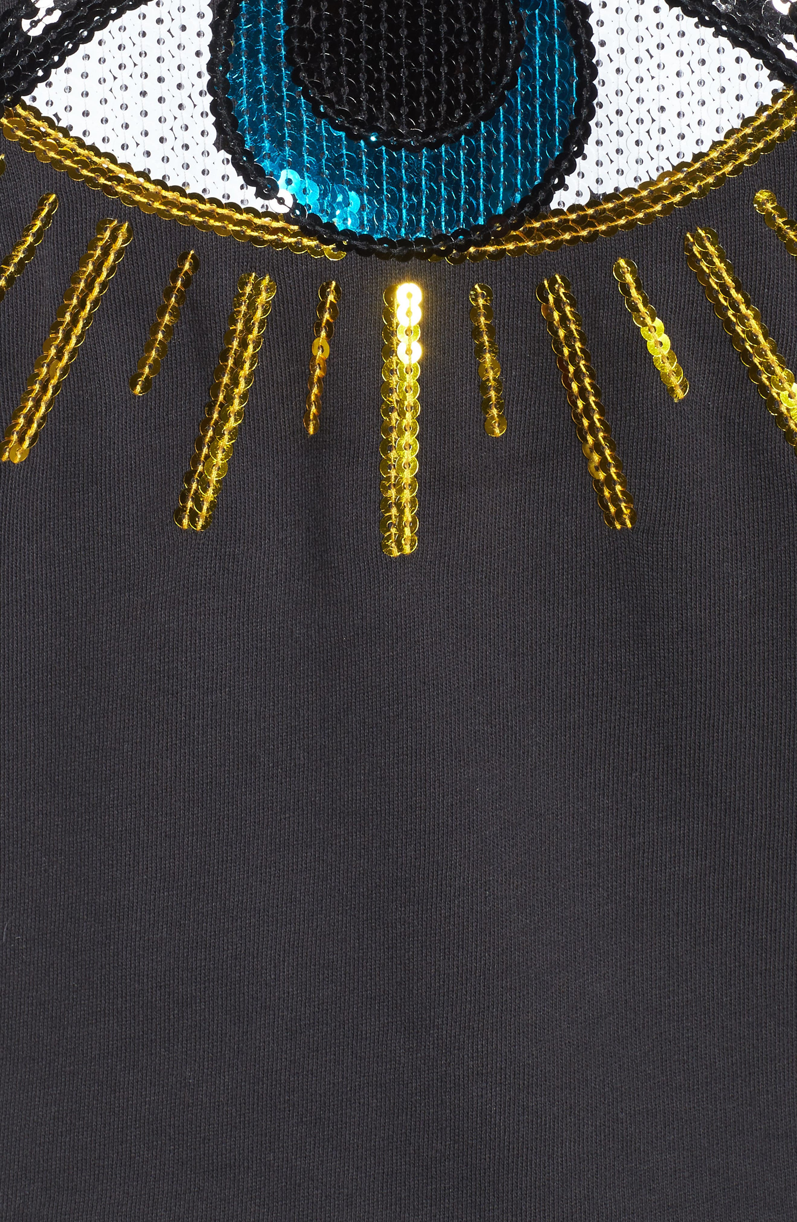 Alexa - Evil Eye Sweatshirt,                             Alternate thumbnail 5, color,                             001