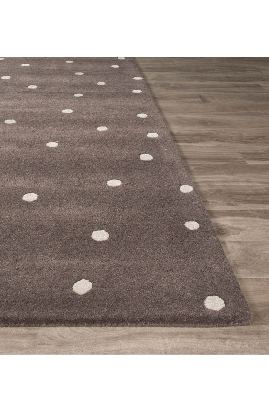 'gramercy - dots' rug,                             Alternate thumbnail 7, color,