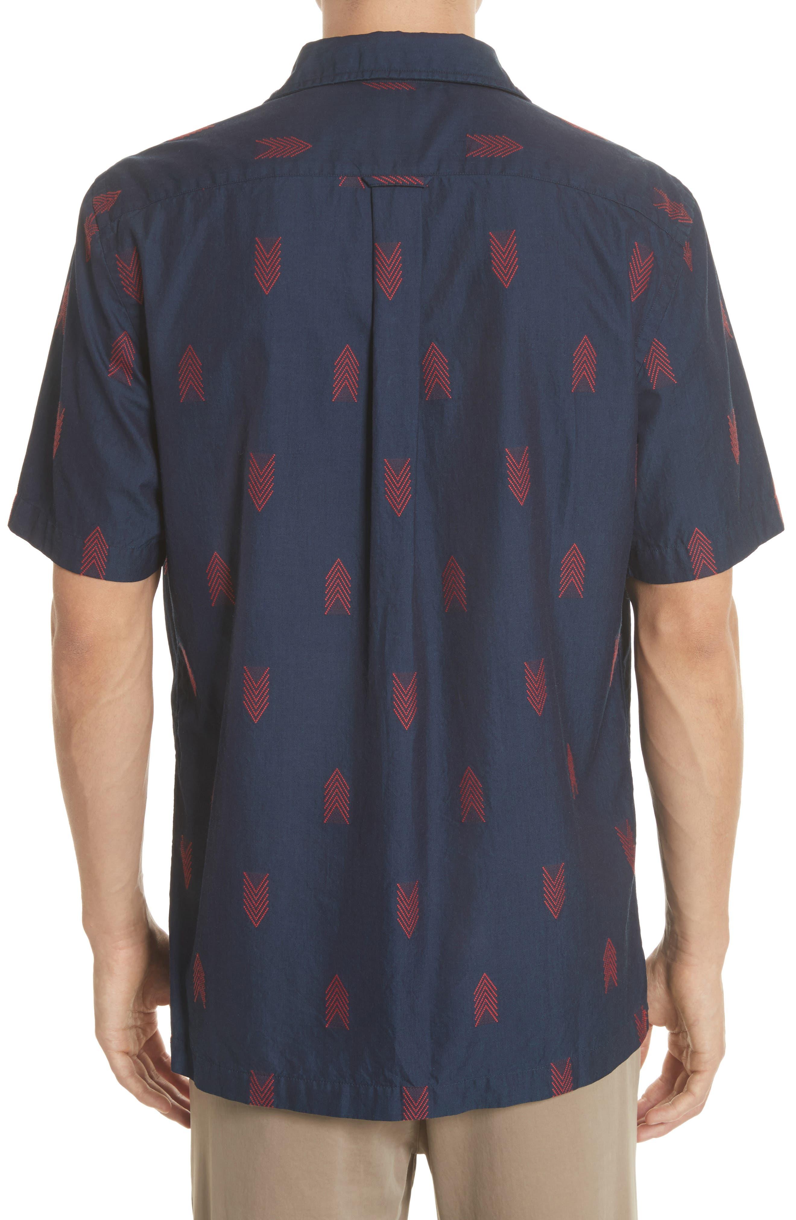 Short Sleeve Woven Shirt,                             Alternate thumbnail 2, color,                             420
