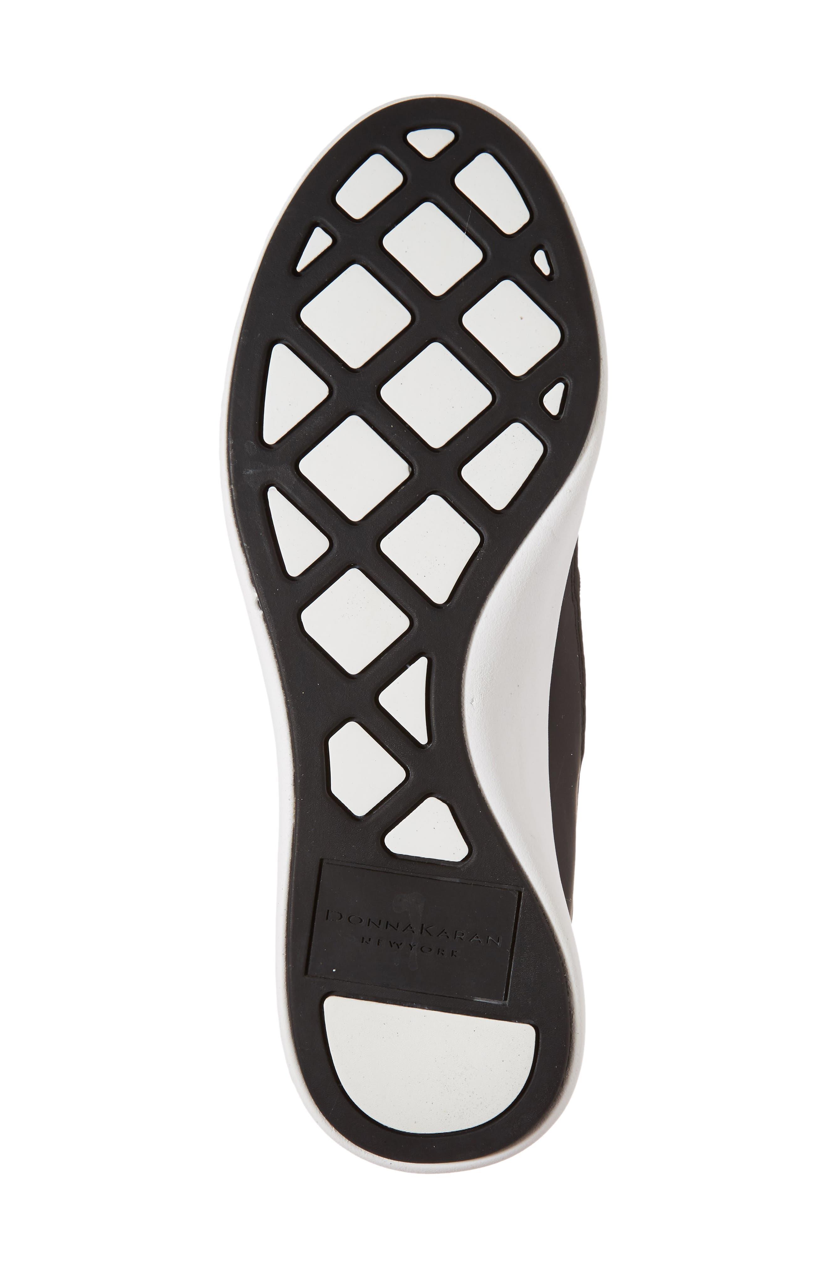 Donna Karan Cory Slip-On Sneaker,                             Alternate thumbnail 6, color,                             001