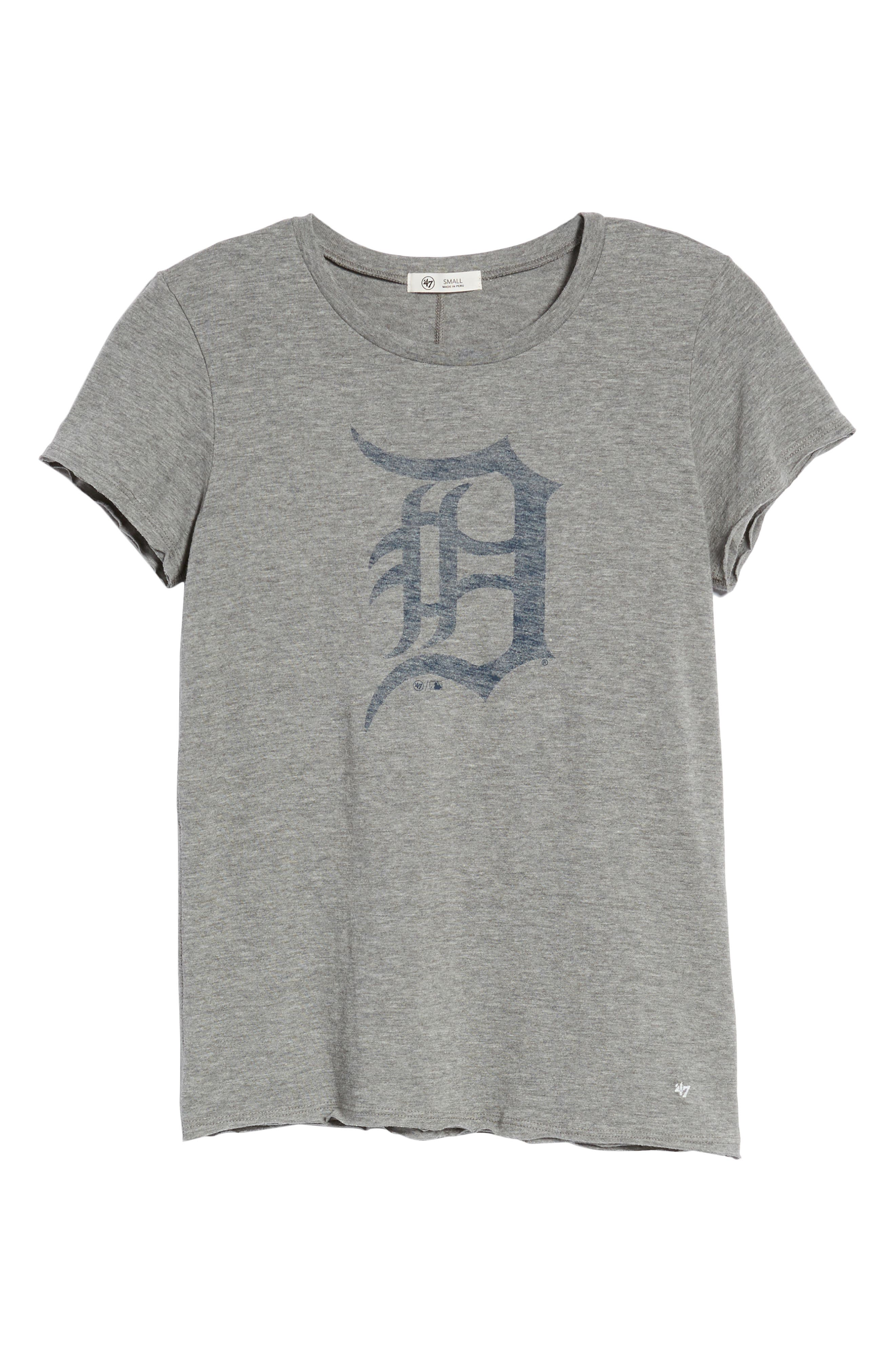 Detroit Tigers Fader Letter Tee,                             Alternate thumbnail 7, color,                             021