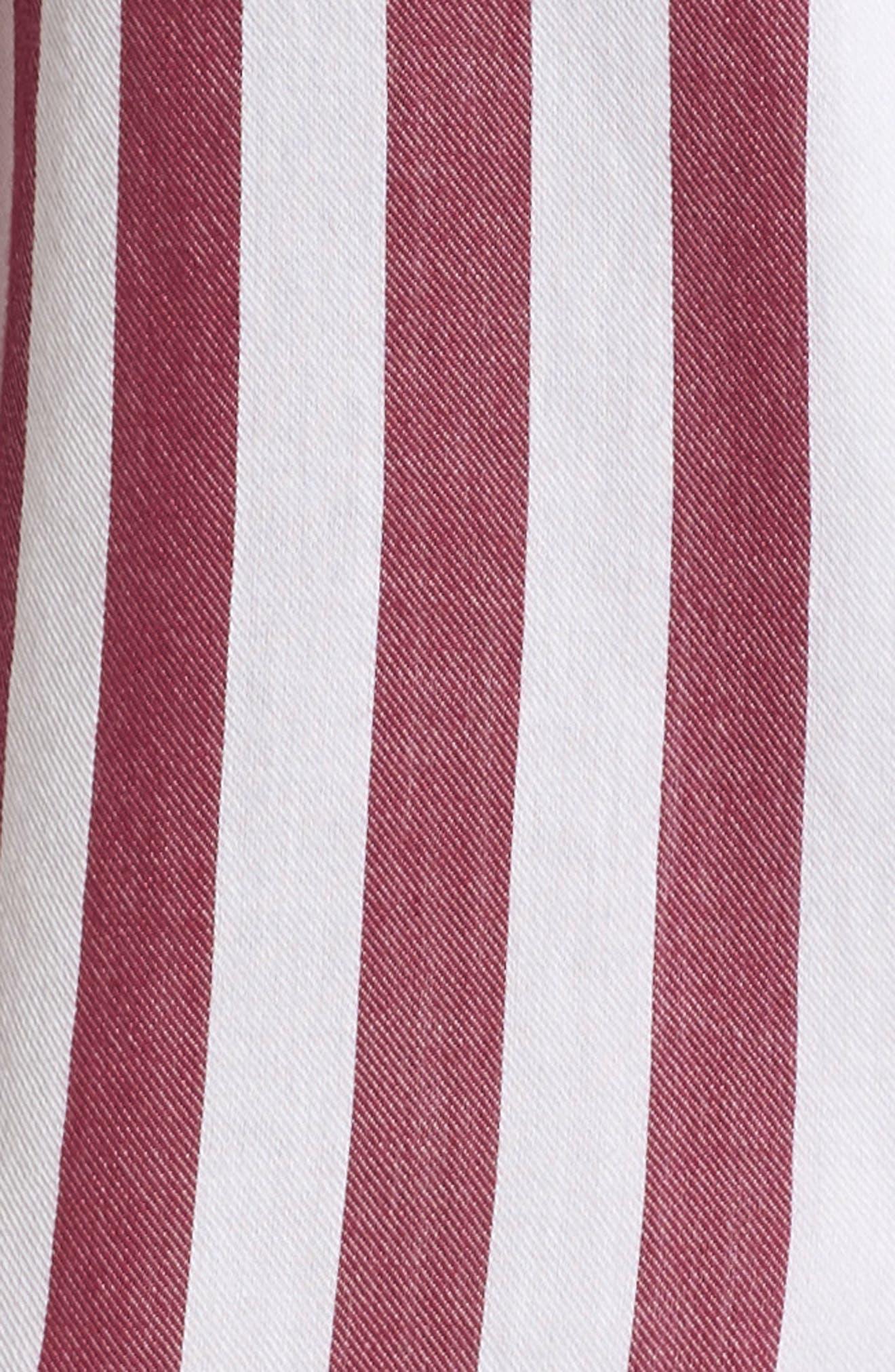 Stripe Short Pajamas,                             Alternate thumbnail 7, color,                             TOLEDO STRIPE
