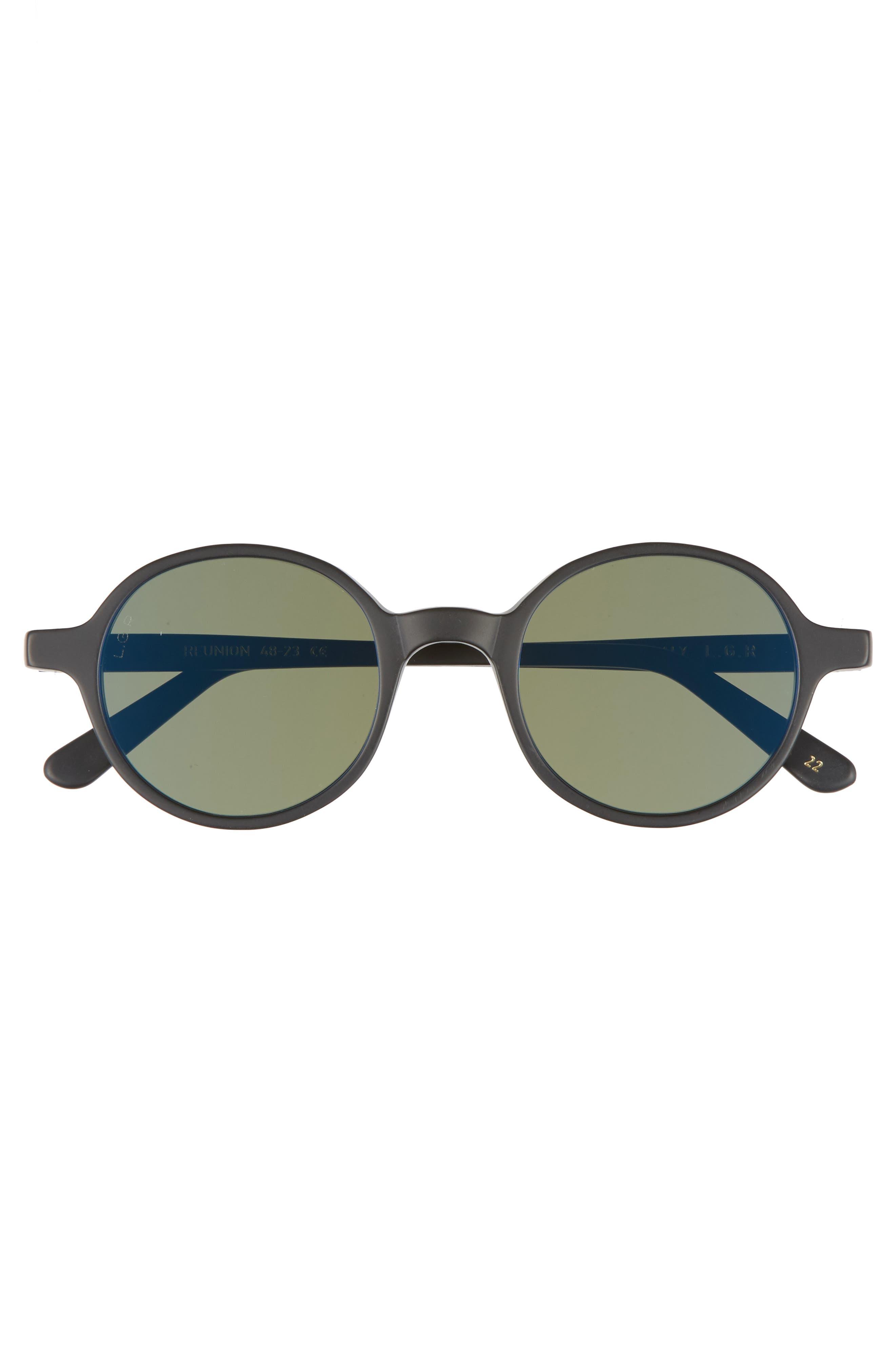 Reunion 48mm Sunglasses,                             Alternate thumbnail 2, color,                             001