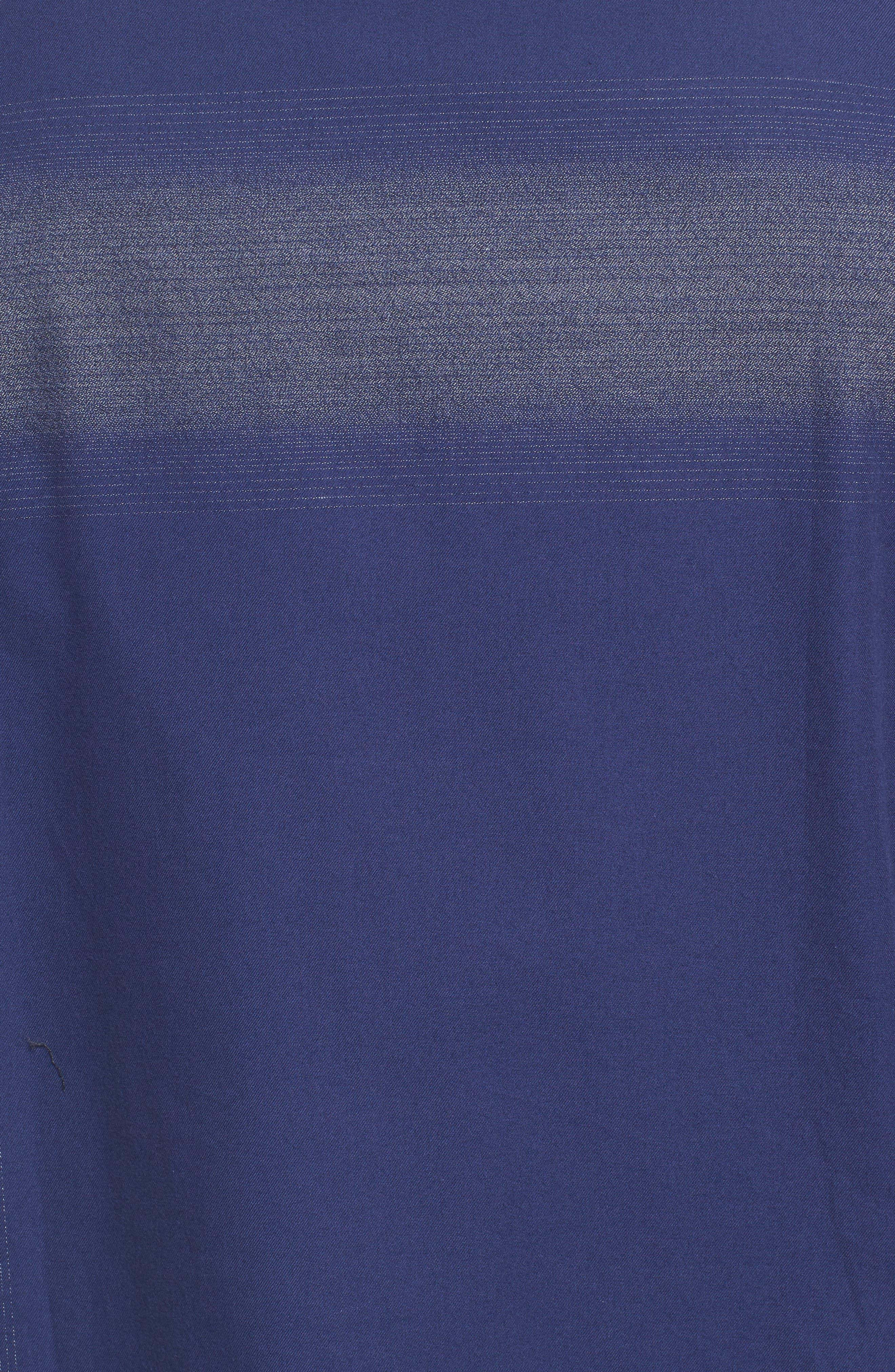 Classic Fit Ombré Stripe Sport Shirt,                             Alternate thumbnail 5, color,                             411