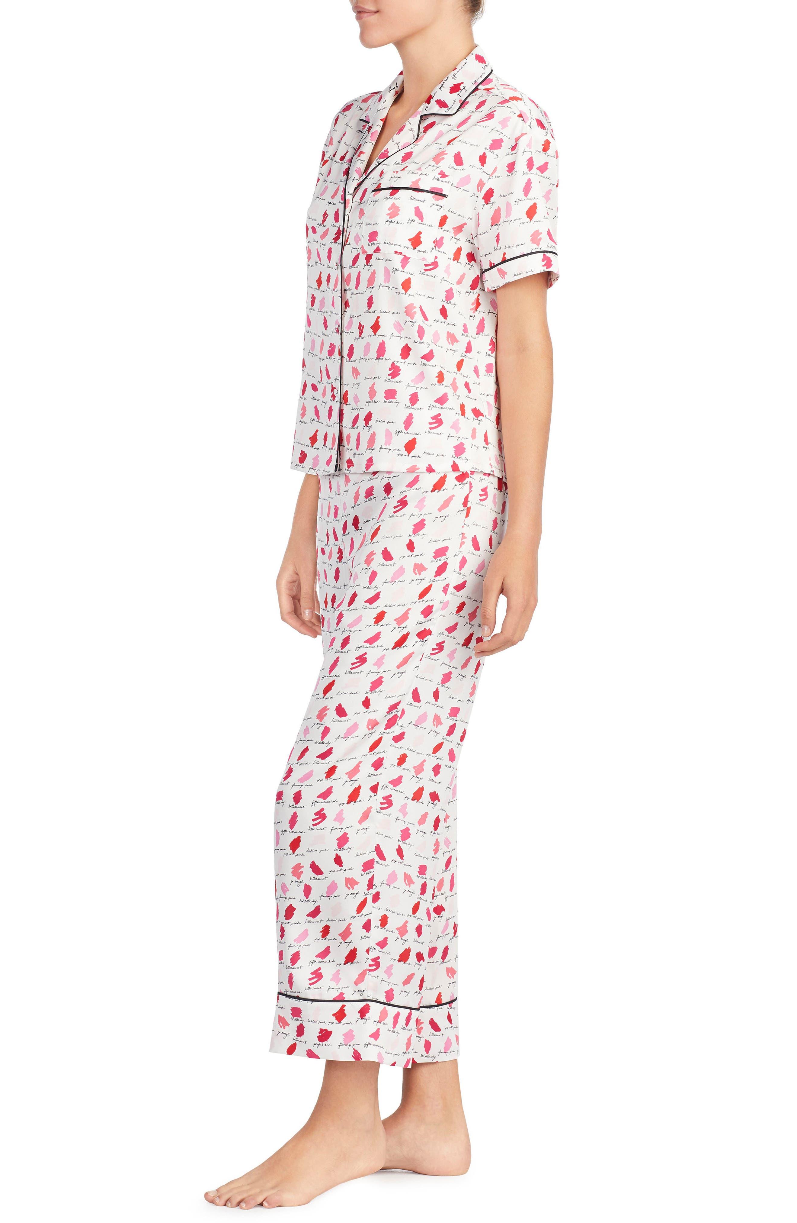print pajamas,                             Alternate thumbnail 3, color,                             650