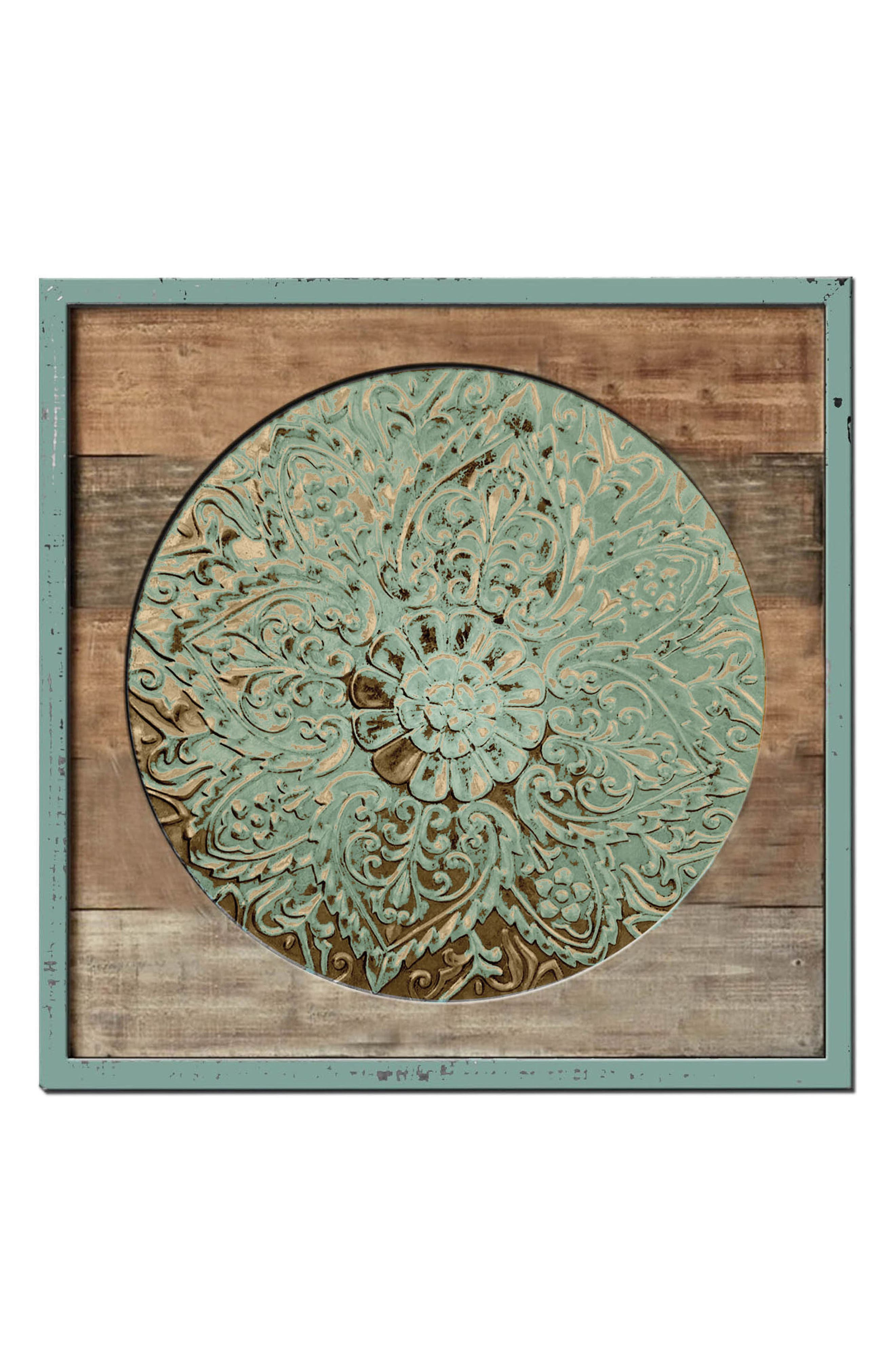 Wood & Metal Wall Art,                             Alternate thumbnail 2, color,                             440