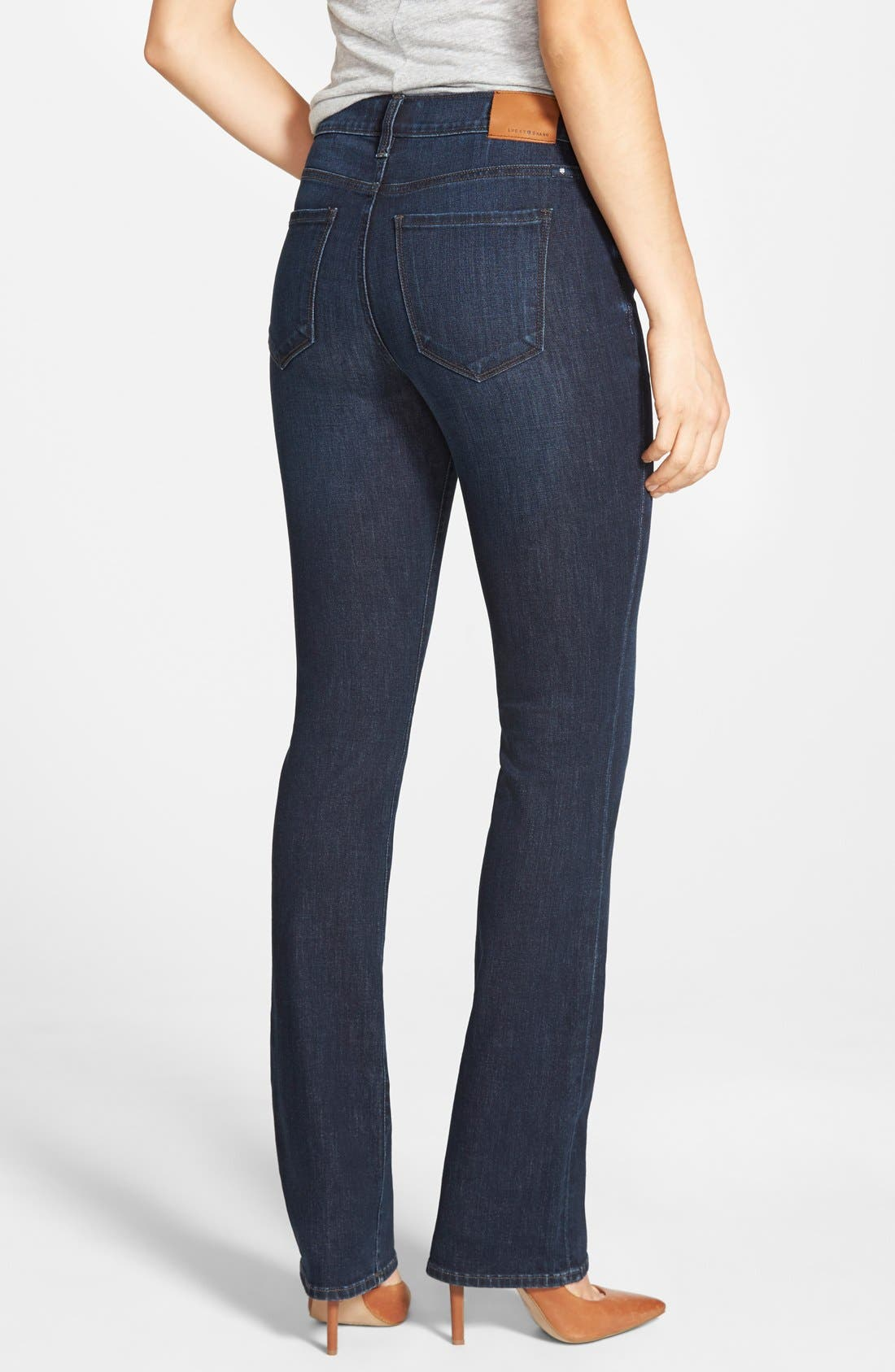 'Brooke' Stretch Bootcut Jeans,                             Alternate thumbnail 3, color,                             421
