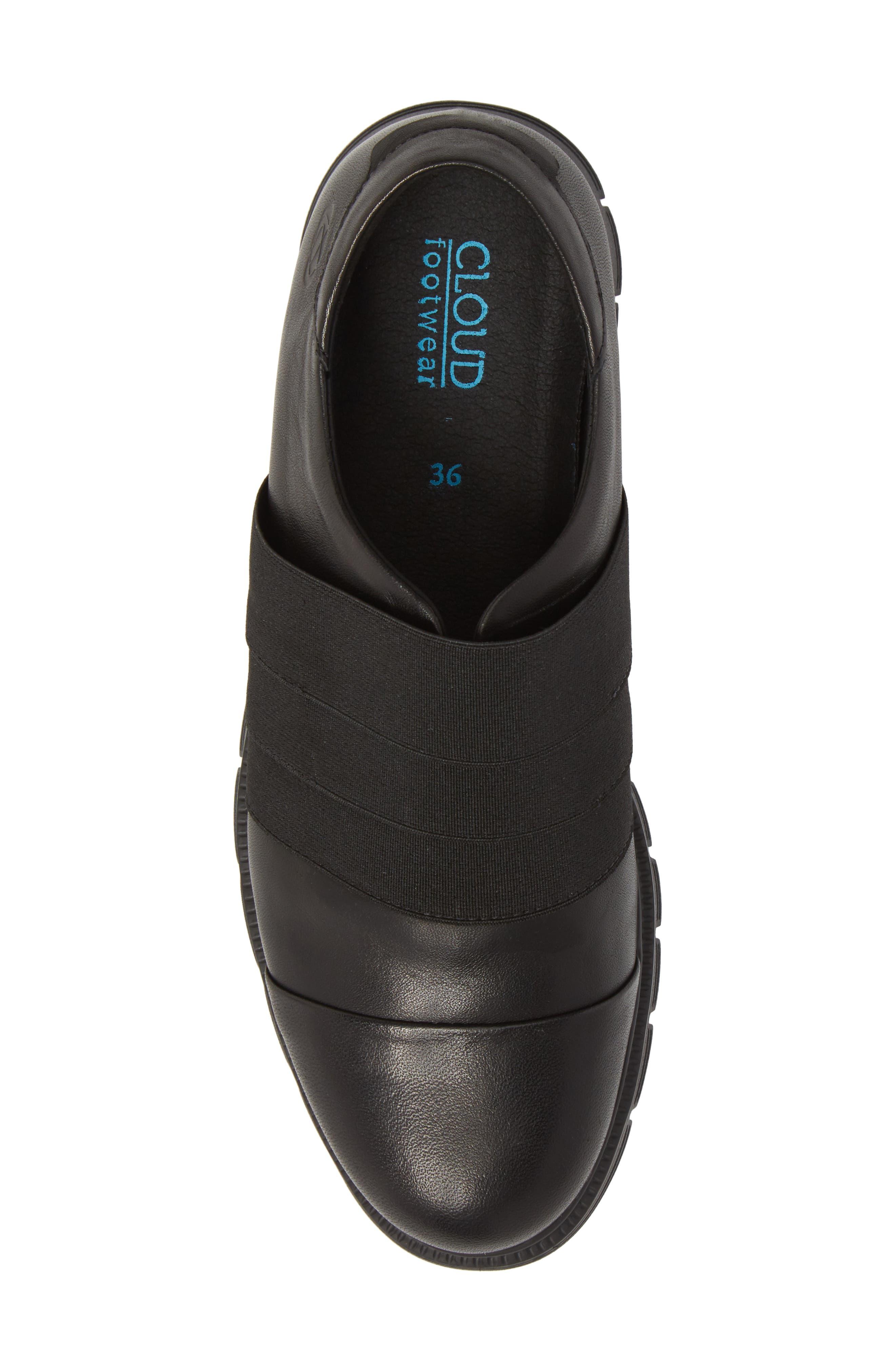 Grace Slip-On Sneaker,                             Alternate thumbnail 5, color,                             001