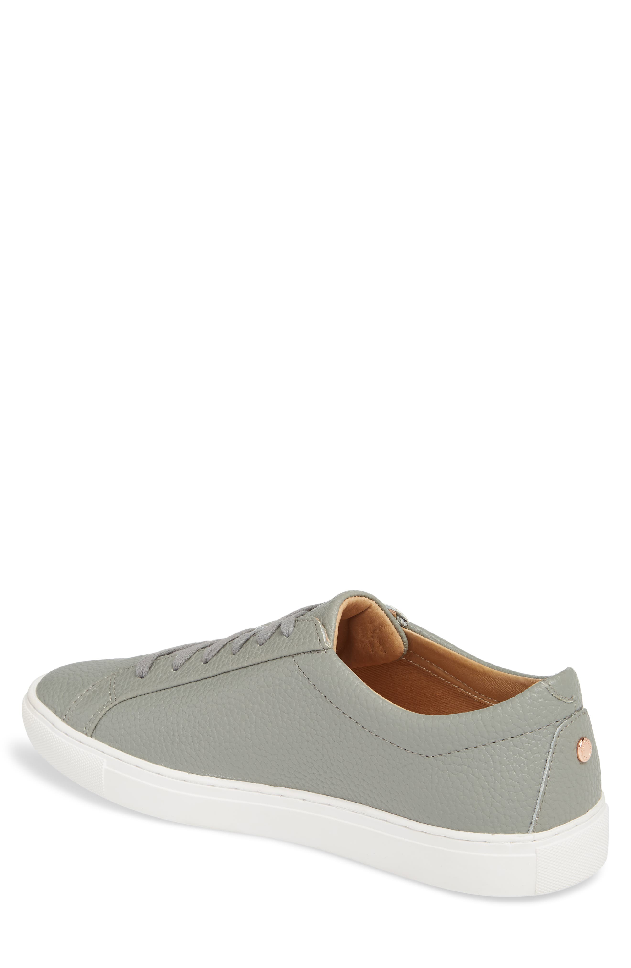 Kennedy Low Top Sneaker,                             Alternate thumbnail 2, color,                             RIVER ROCK LEATHER