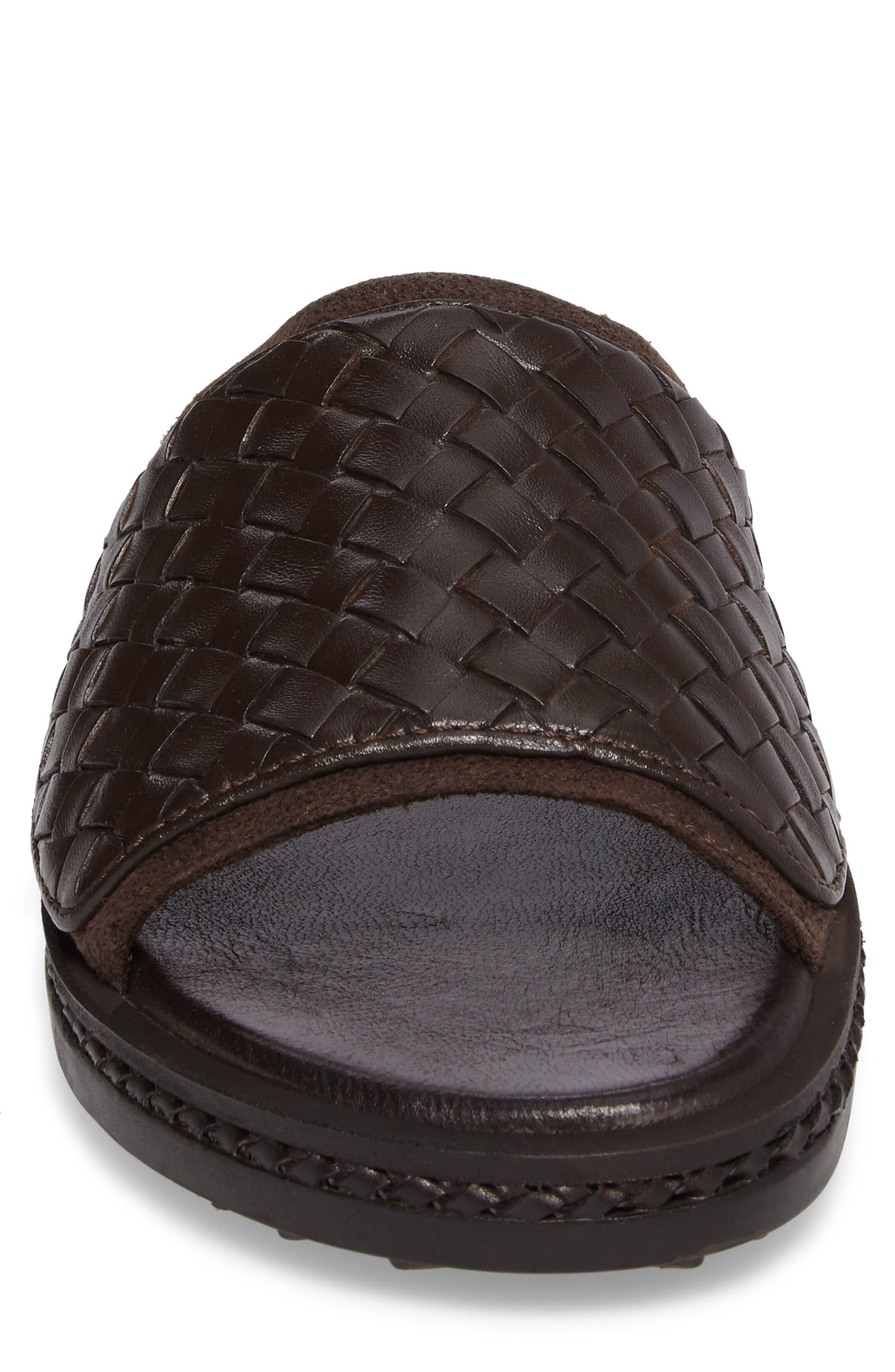 Shore Crest Woven Slide Sandal,                             Alternate thumbnail 8, color,