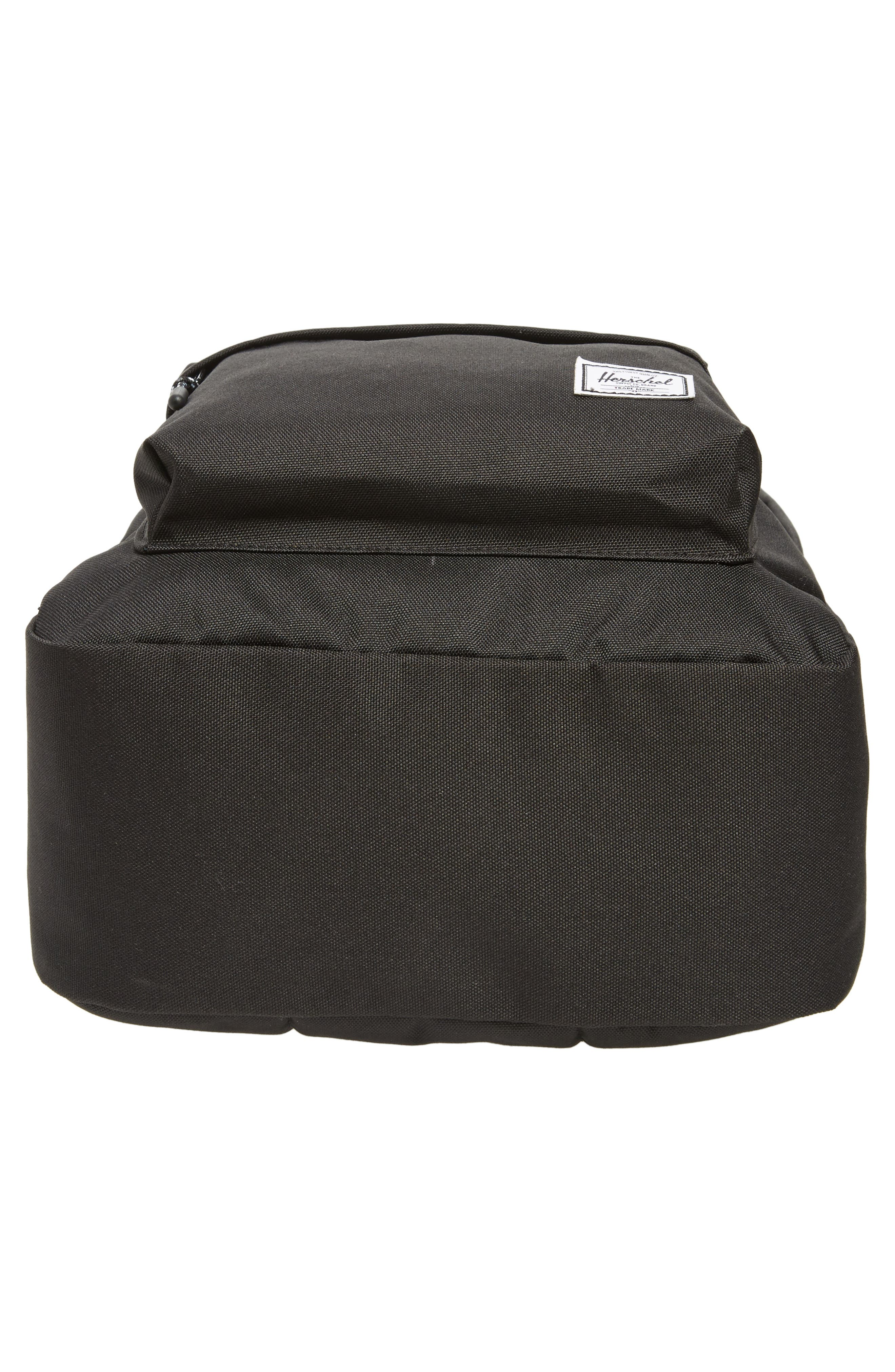 Classic Mid Volume Backpack,                             Alternate thumbnail 6, color,                             BLACK