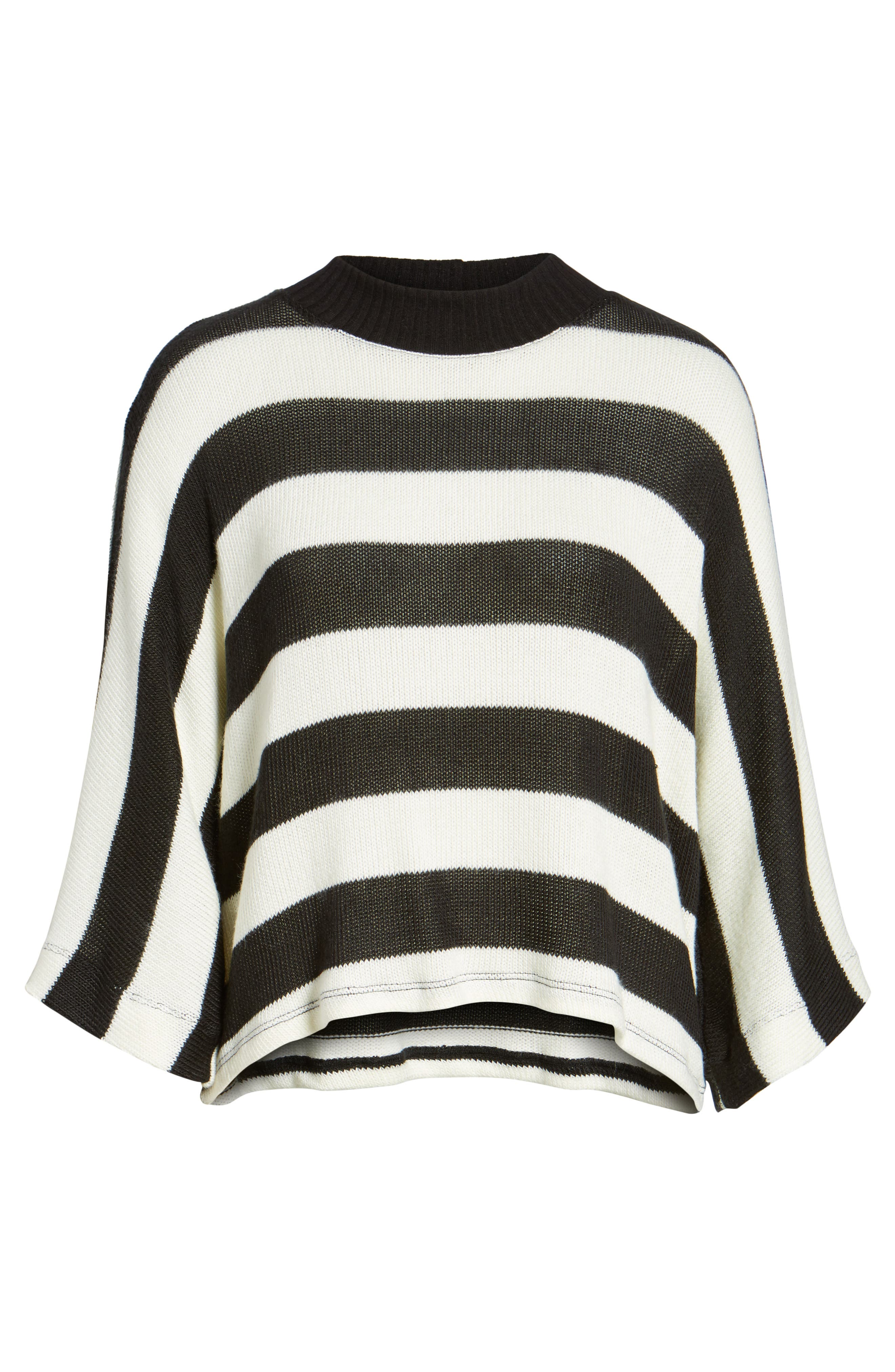 Kingston Stripe Sweater,                             Alternate thumbnail 6, color,                             001