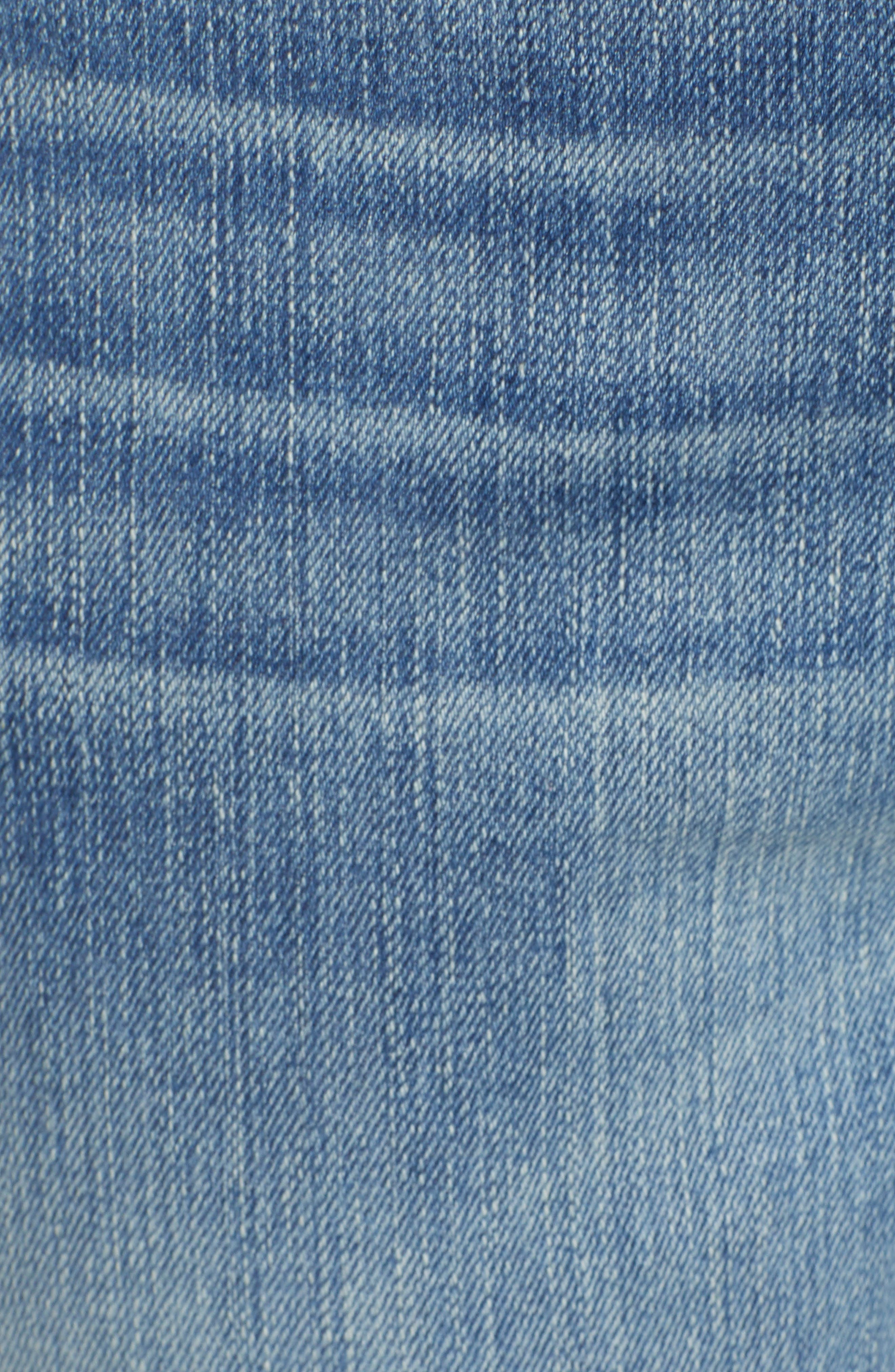 CASLON<SUP>®</SUP>,                             Arden Ripped High Waist Boyfriend Jeans,                             Alternate thumbnail 5, color,                             420