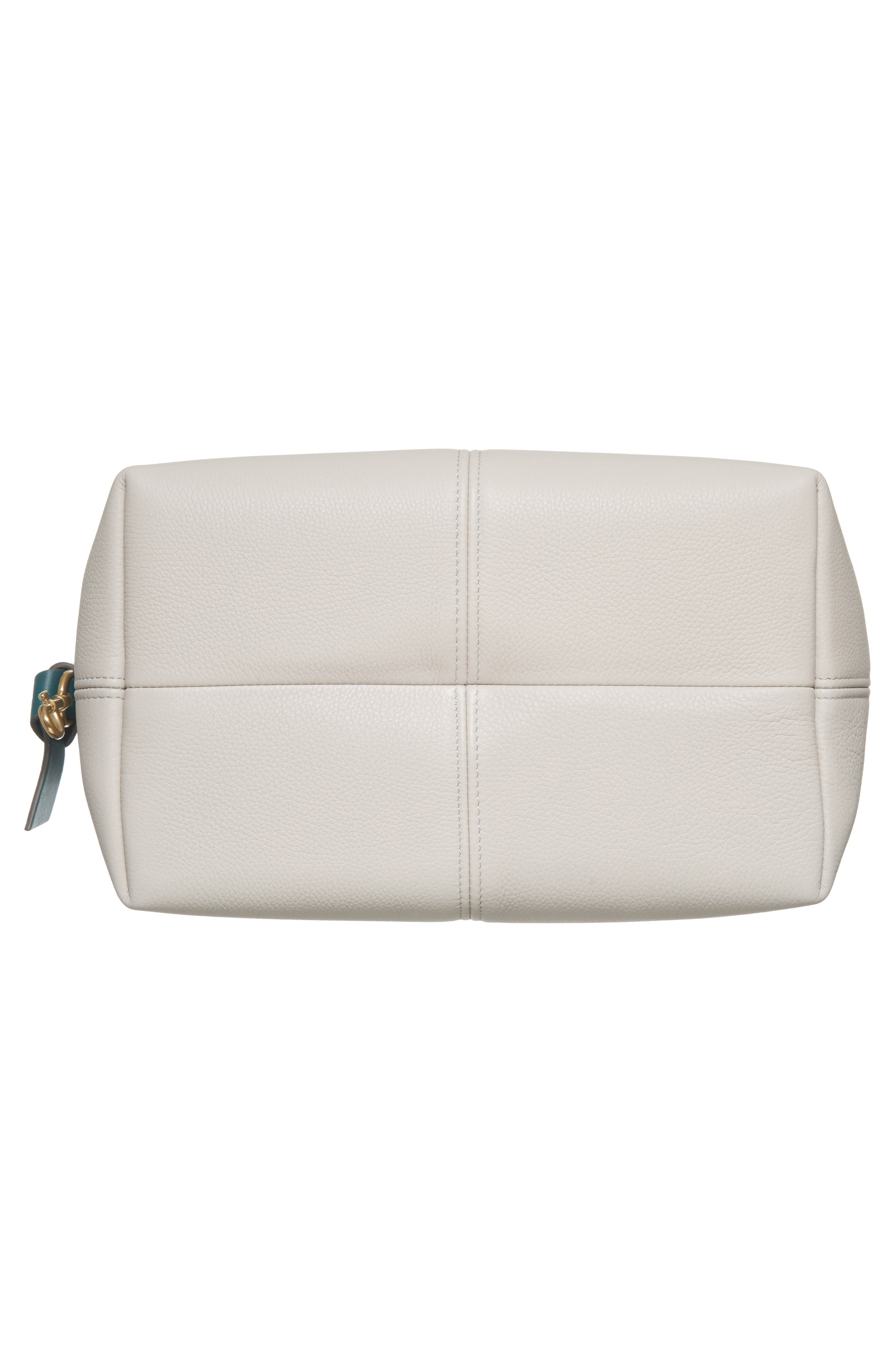 Small Leather Hobo,                             Alternate thumbnail 6, color,