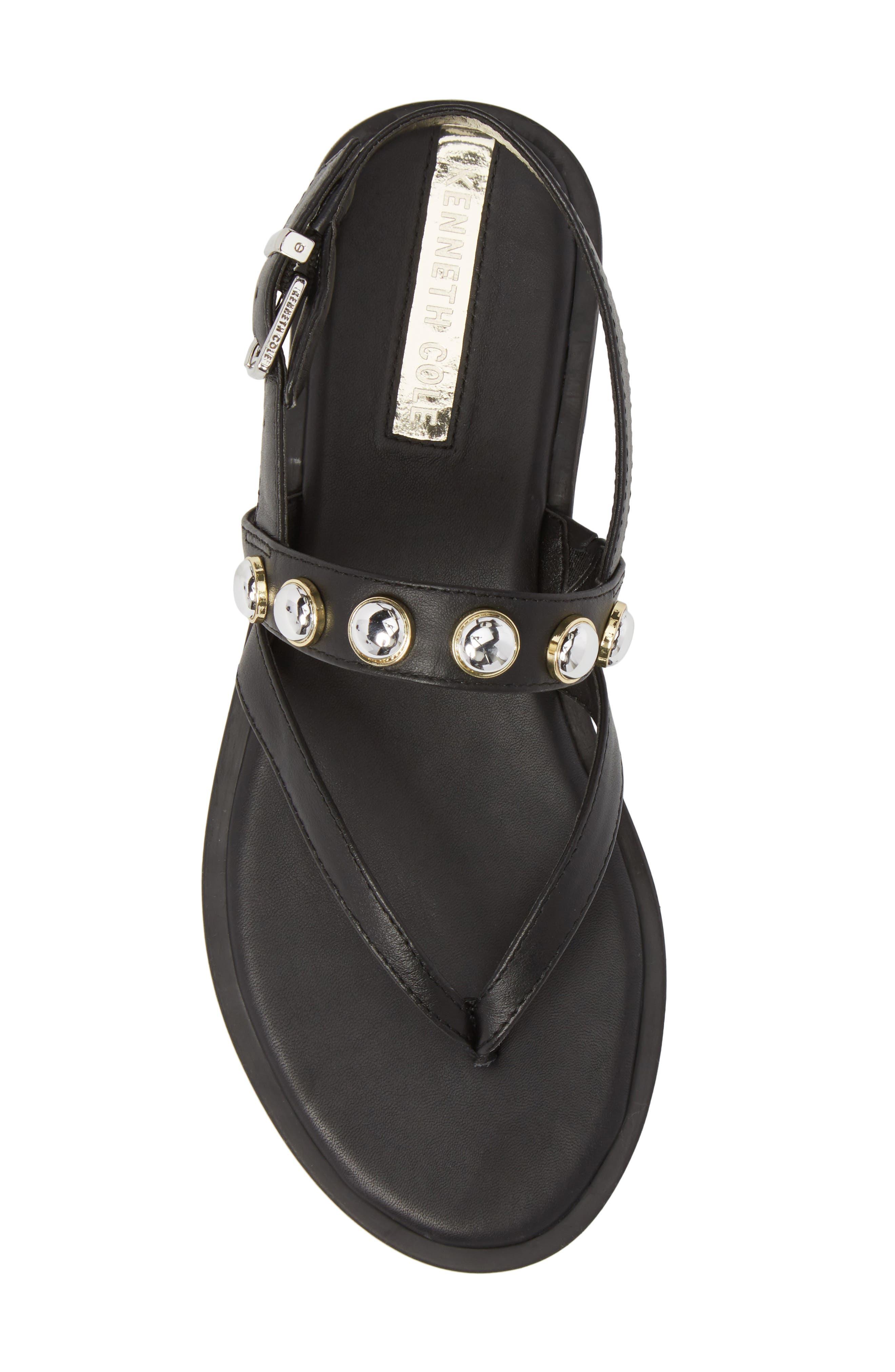 Tama Studded Sandal,                             Alternate thumbnail 5, color,                             001