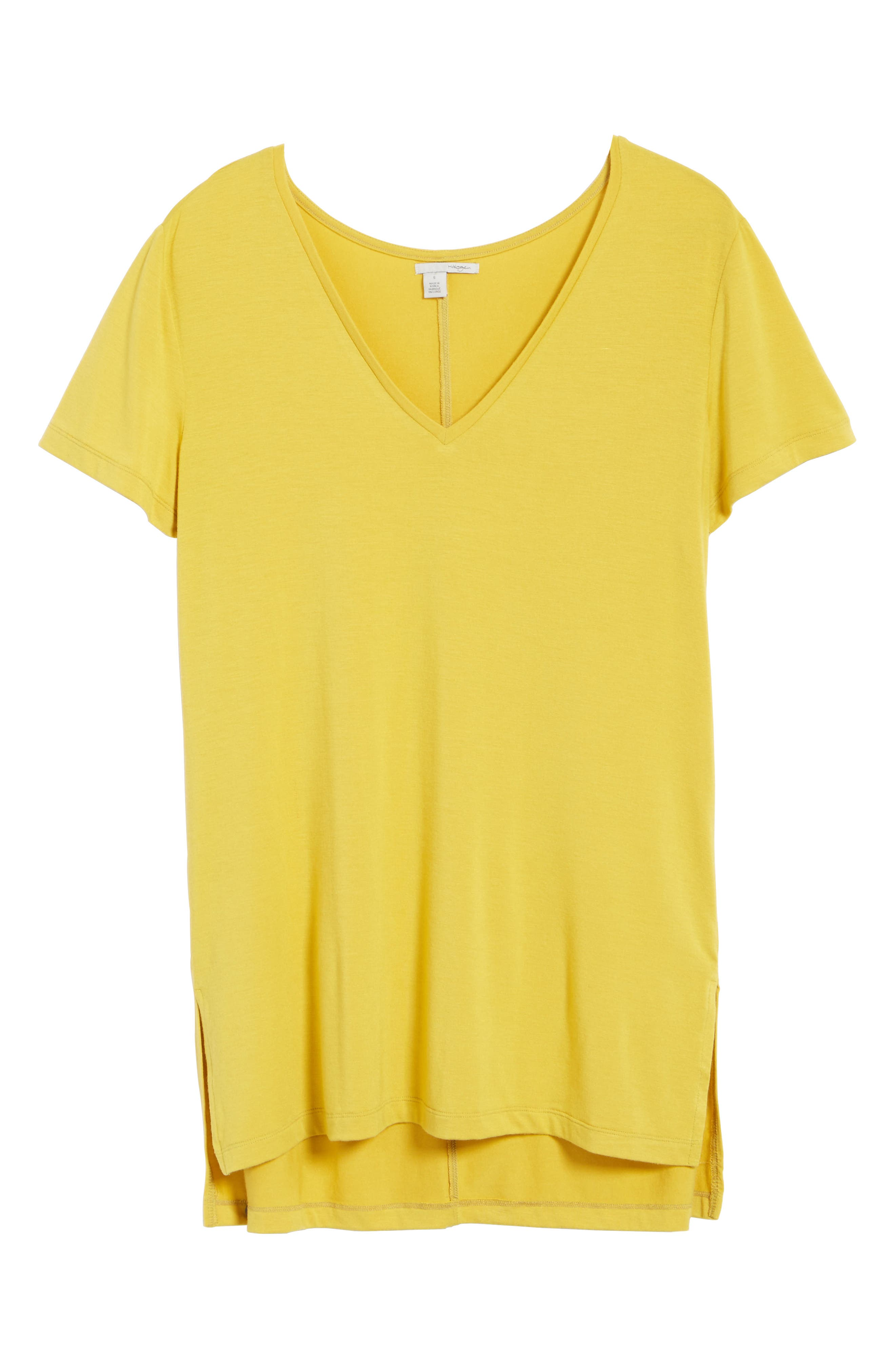 V-Neck Tunic Tee,                             Alternate thumbnail 71, color,