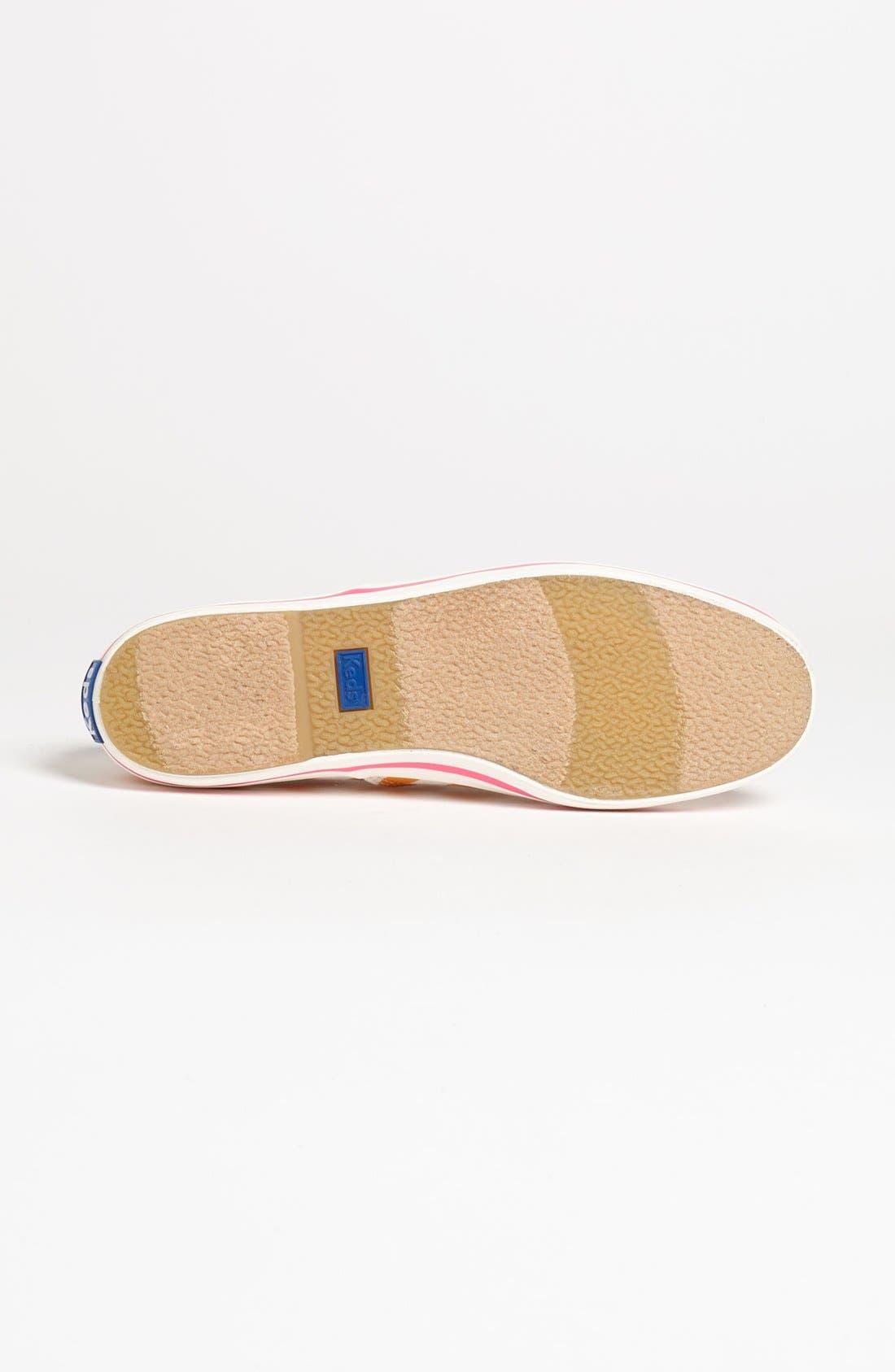 Keds<sup>®</sup> for kate spade new york 'kick' sneaker,                             Alternate thumbnail 8, color,
