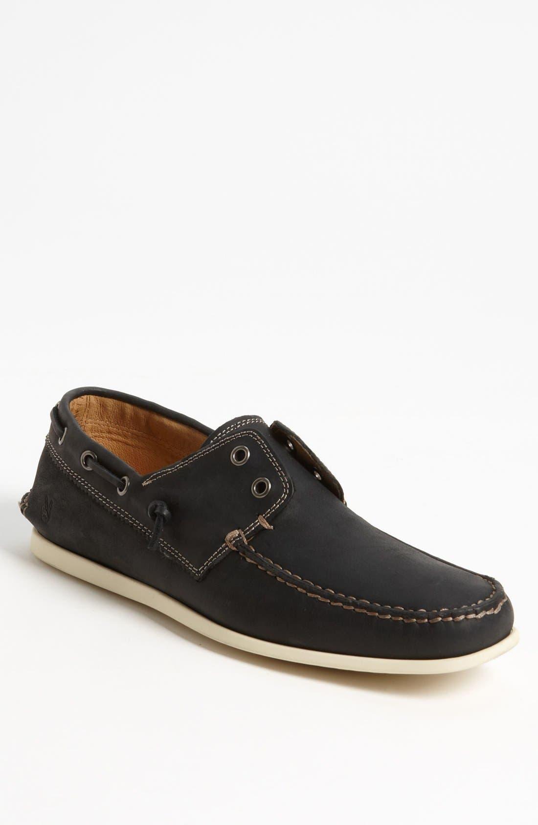 'Schooner' Boat Shoe, Main, color, 001