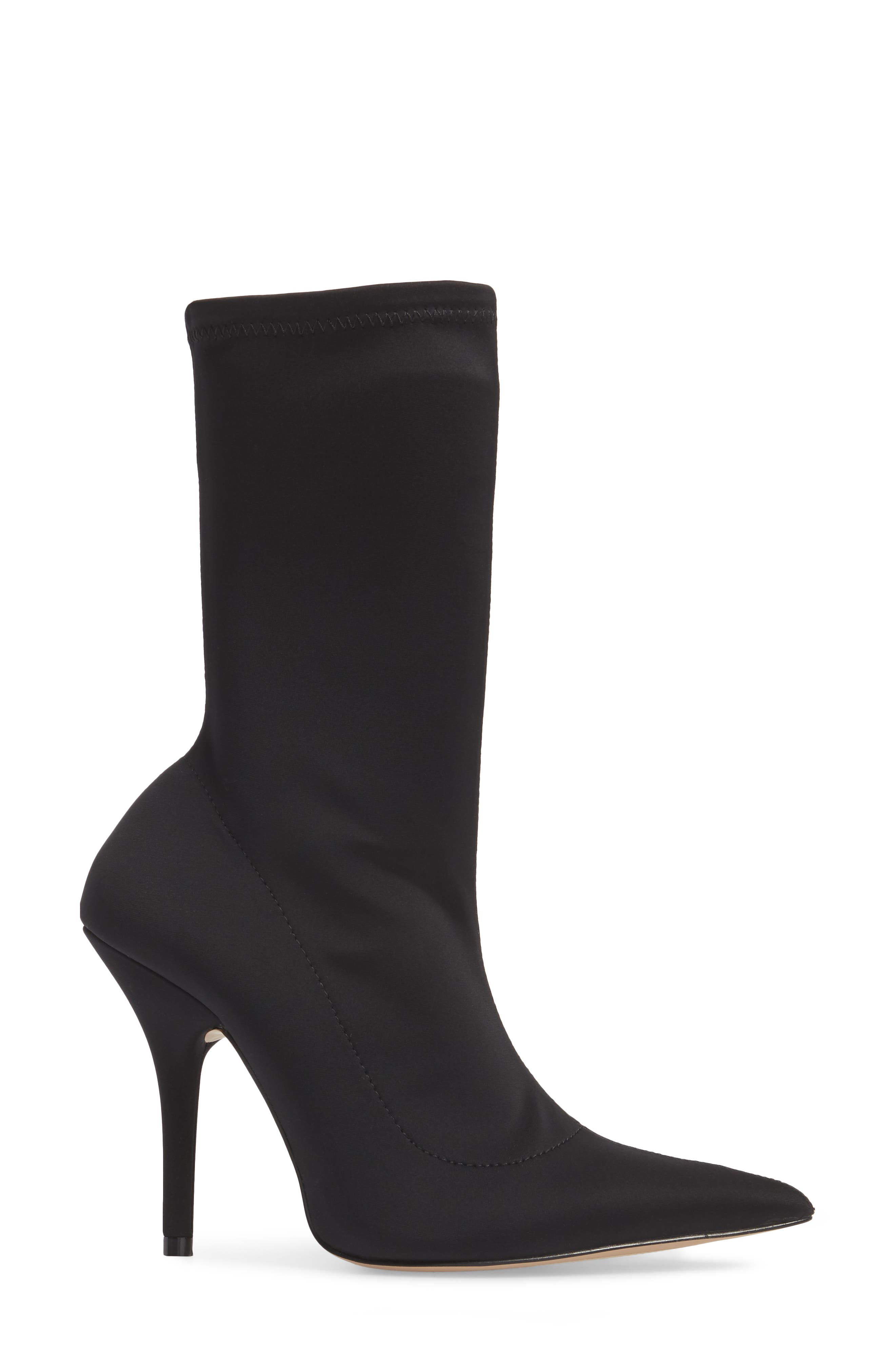 Mimi Stretch Bootie,                             Alternate thumbnail 3, color,                             001