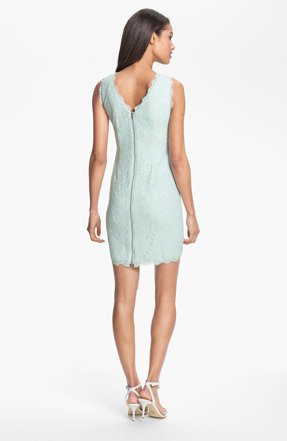 Boatneck Lace Sheath Dress,                             Alternate thumbnail 74, color,