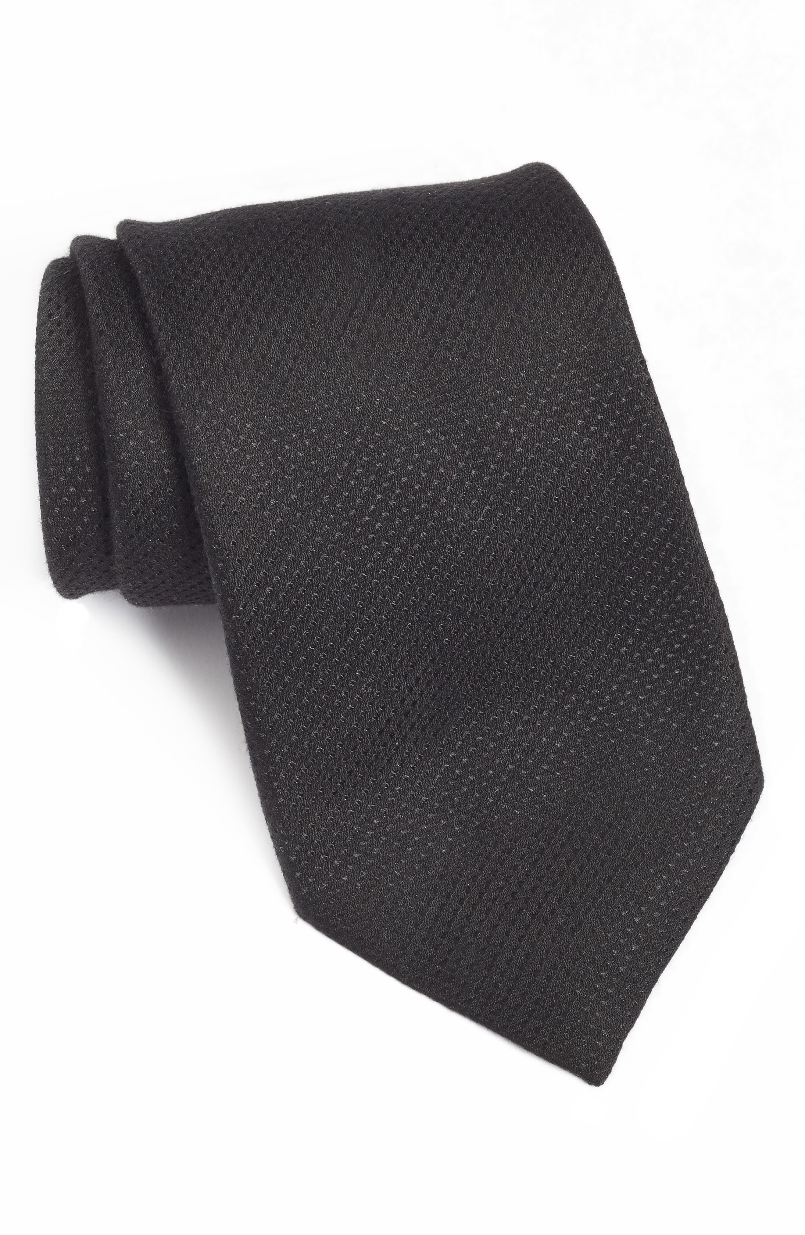 Solid Tie,                             Main thumbnail 1, color,                             001