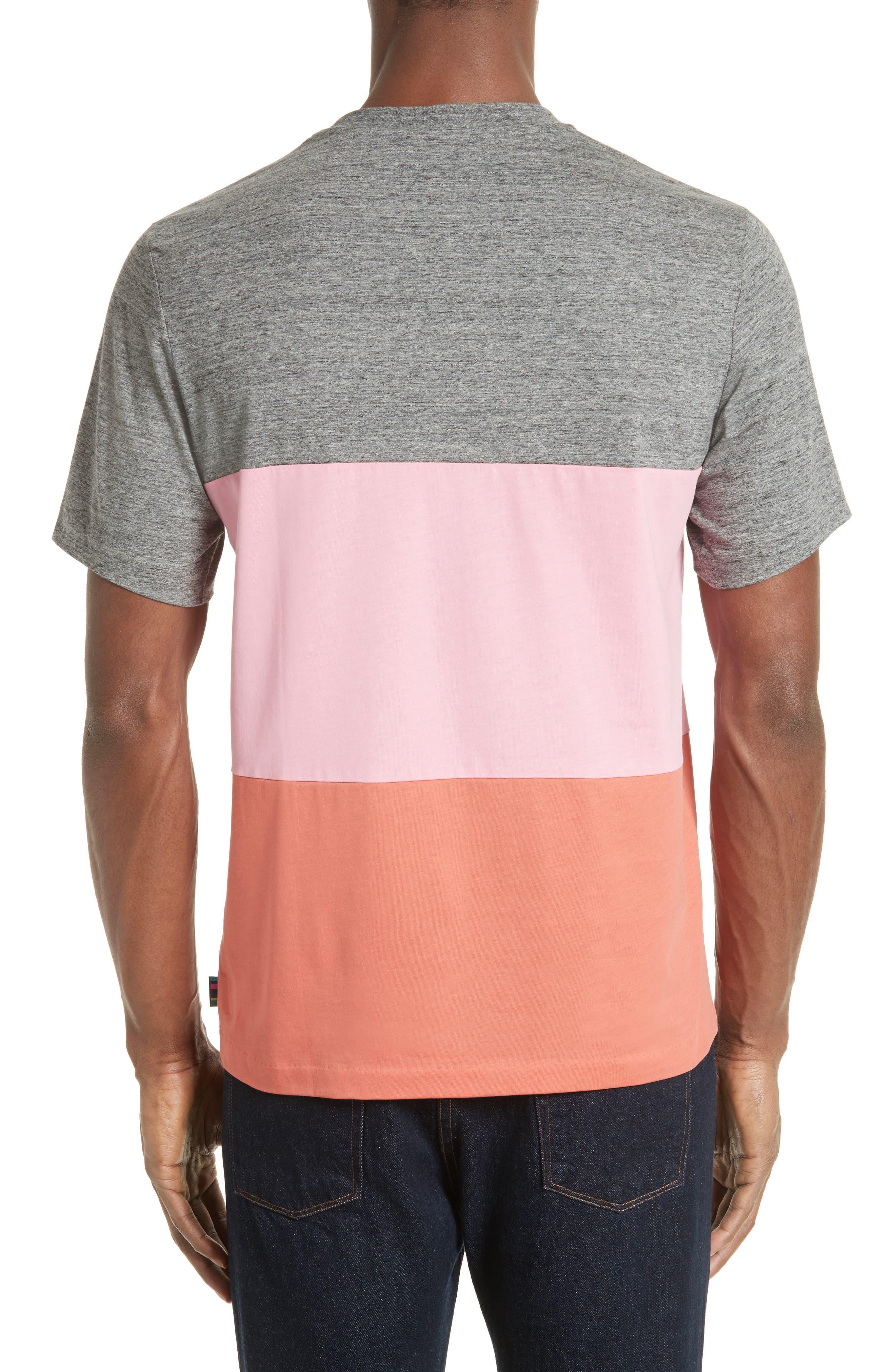 Bold Stripe T-Shirt,                             Alternate thumbnail 2, color,