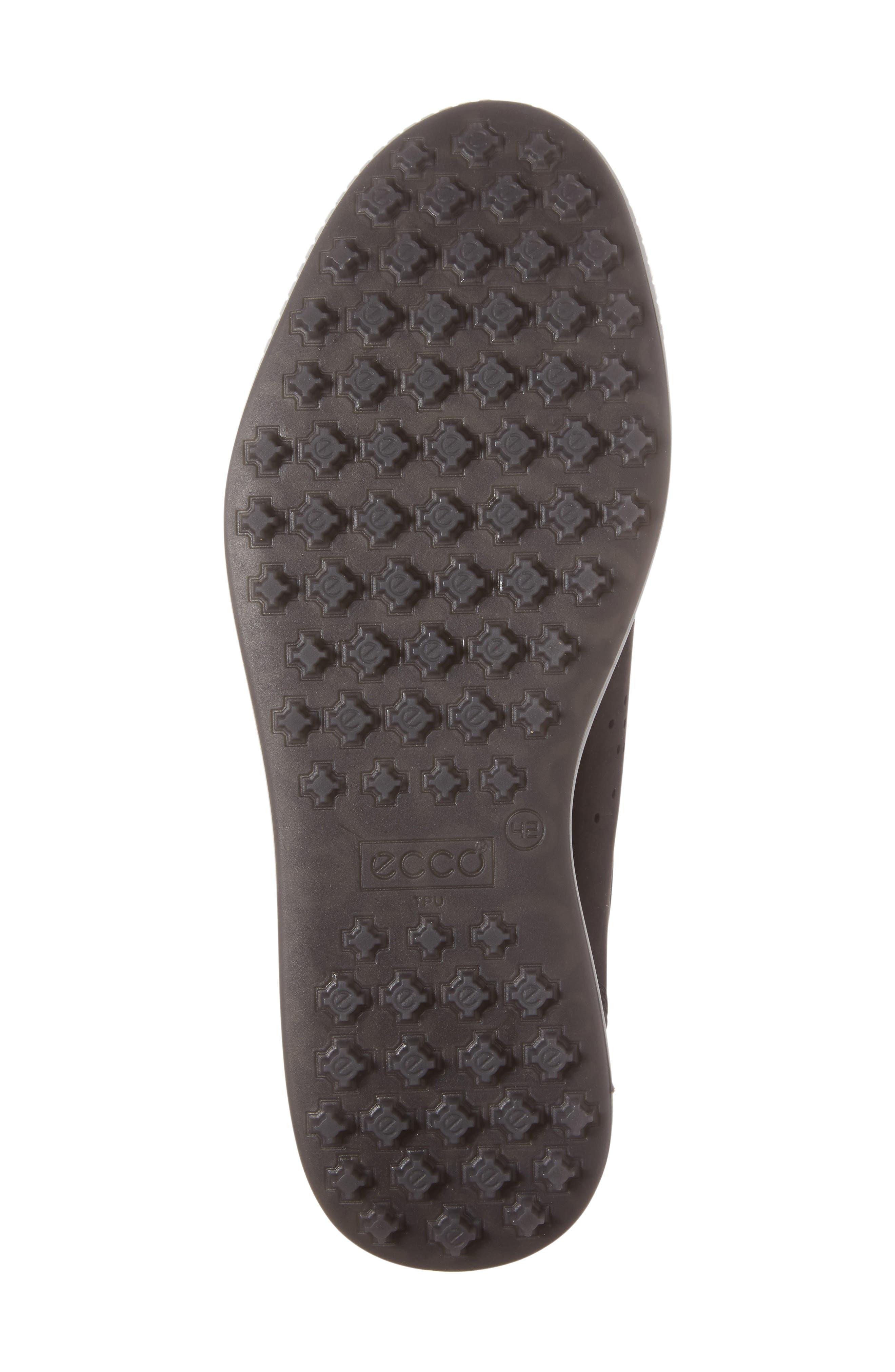 Street Retro HM Golf Shoe,                             Alternate thumbnail 6, color,                             BLACK