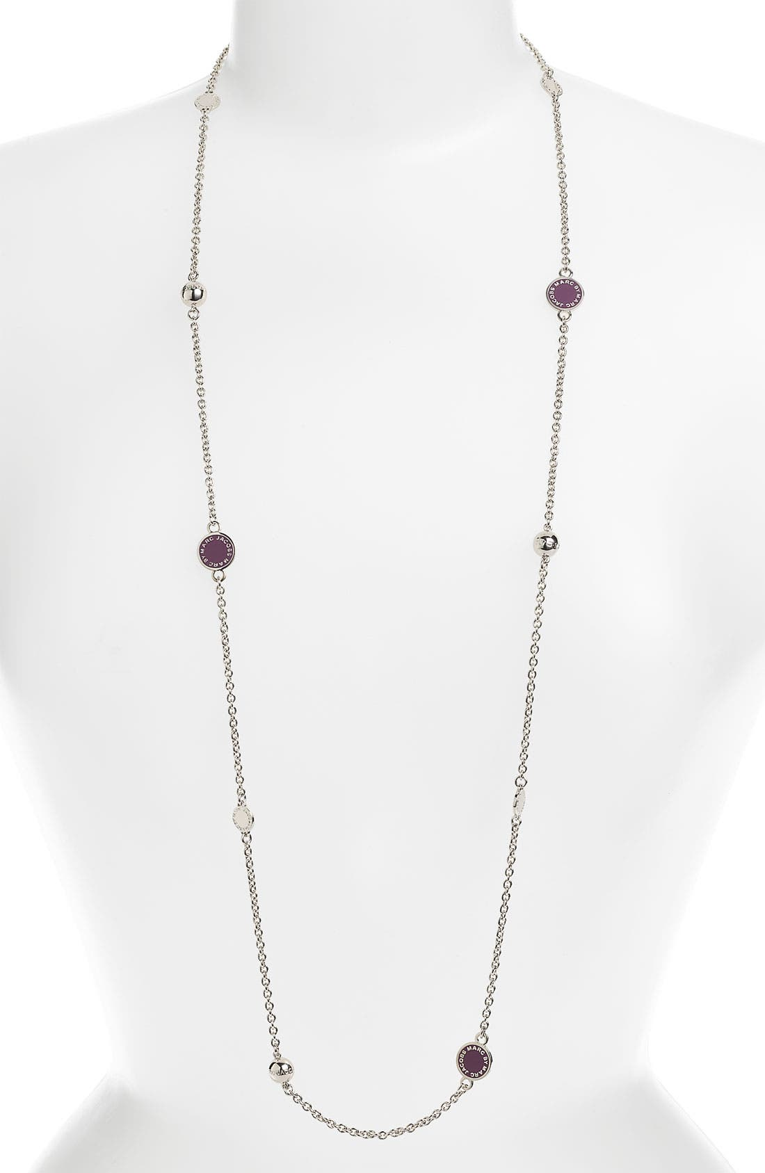 'Classic Marc' Long Necklace,                             Main thumbnail 7, color,