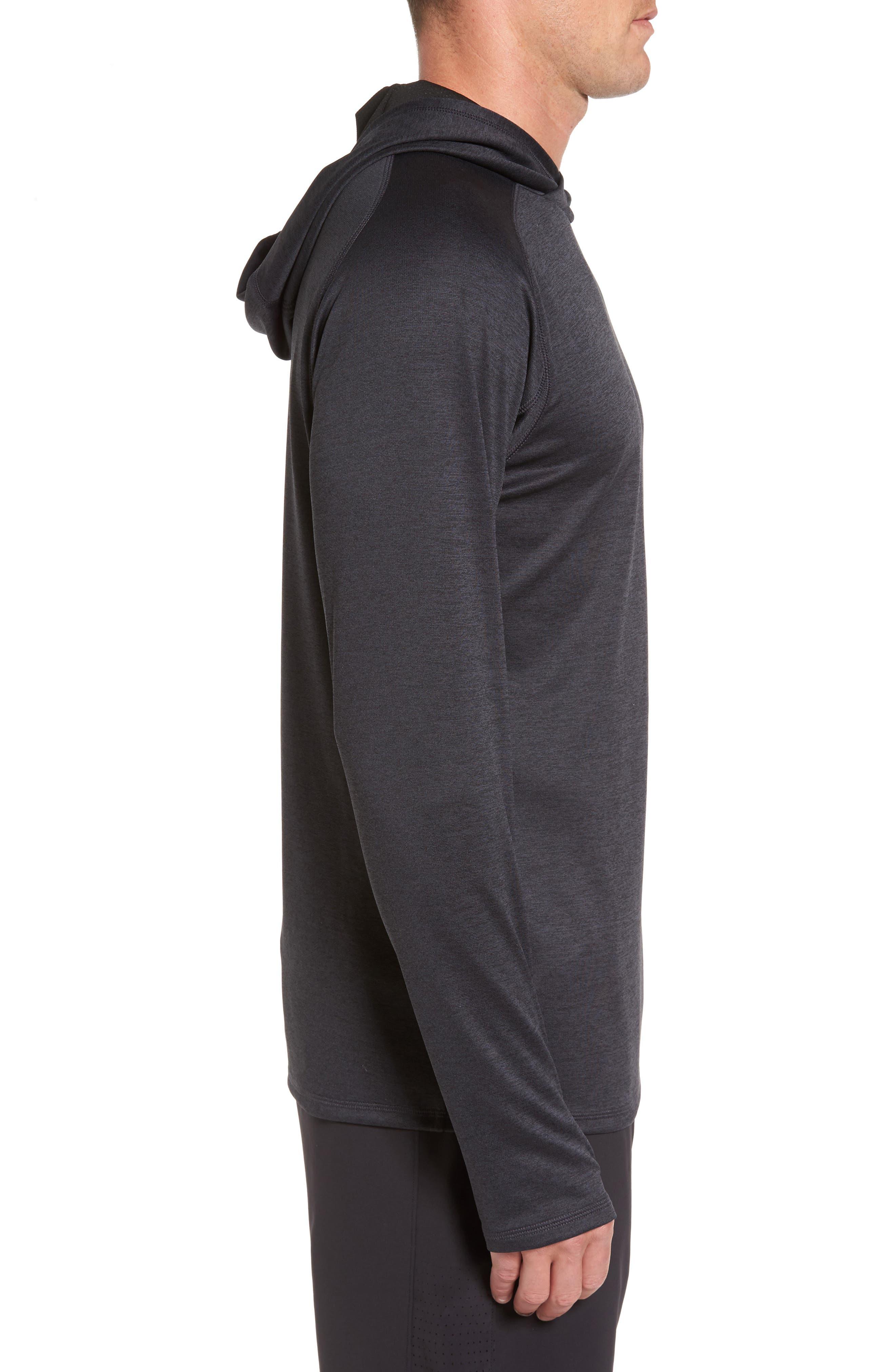 Lightweight Pullover Hoodie,                             Alternate thumbnail 3, color,                             001