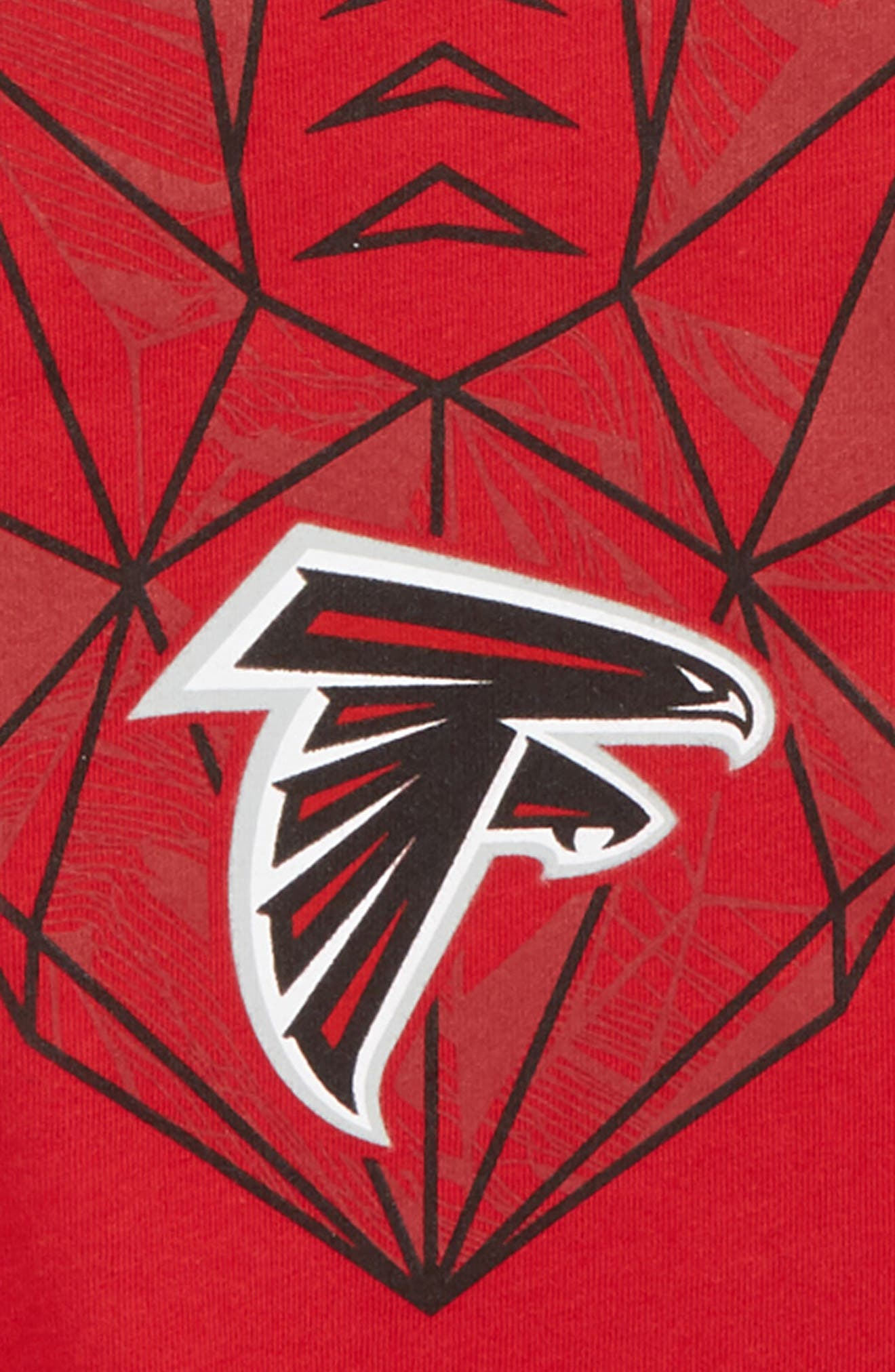 NFL Atlanta Falcons Dry Legend Lift T-Shirt,                             Alternate thumbnail 2, color,                             BLACK