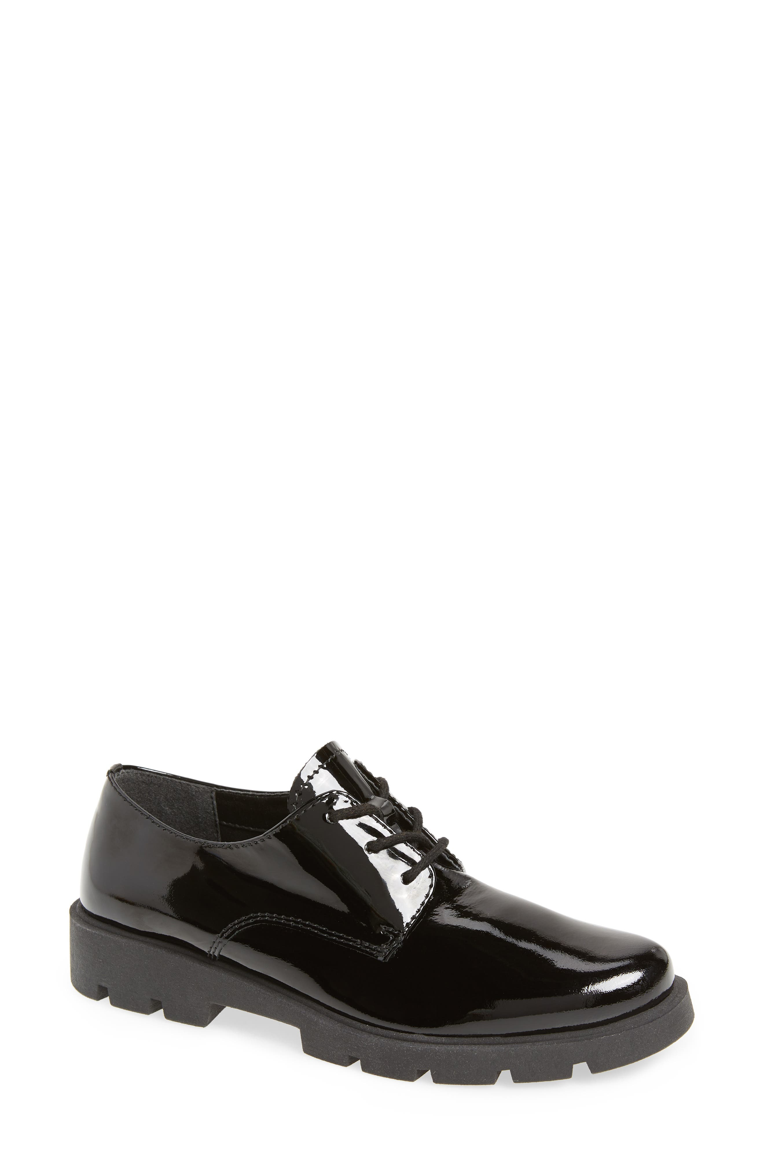 People Mover Derby,                             Main thumbnail 1, color,                             BLACK PATENT LEATHER