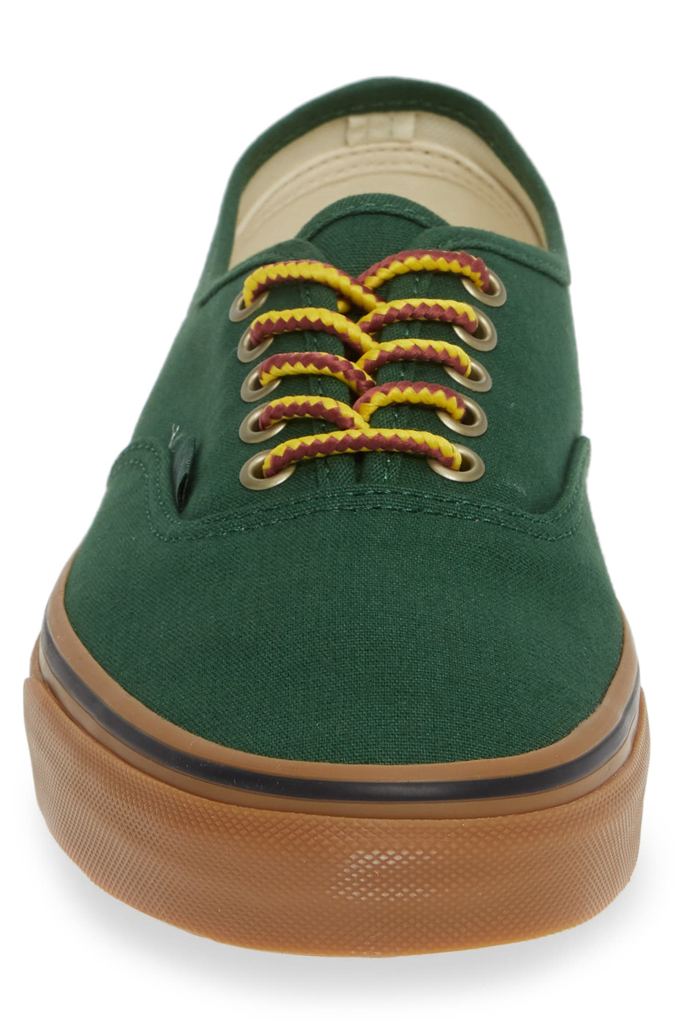 Authentic Sneaker,                             Alternate thumbnail 4, color,                             GREEN EDEN