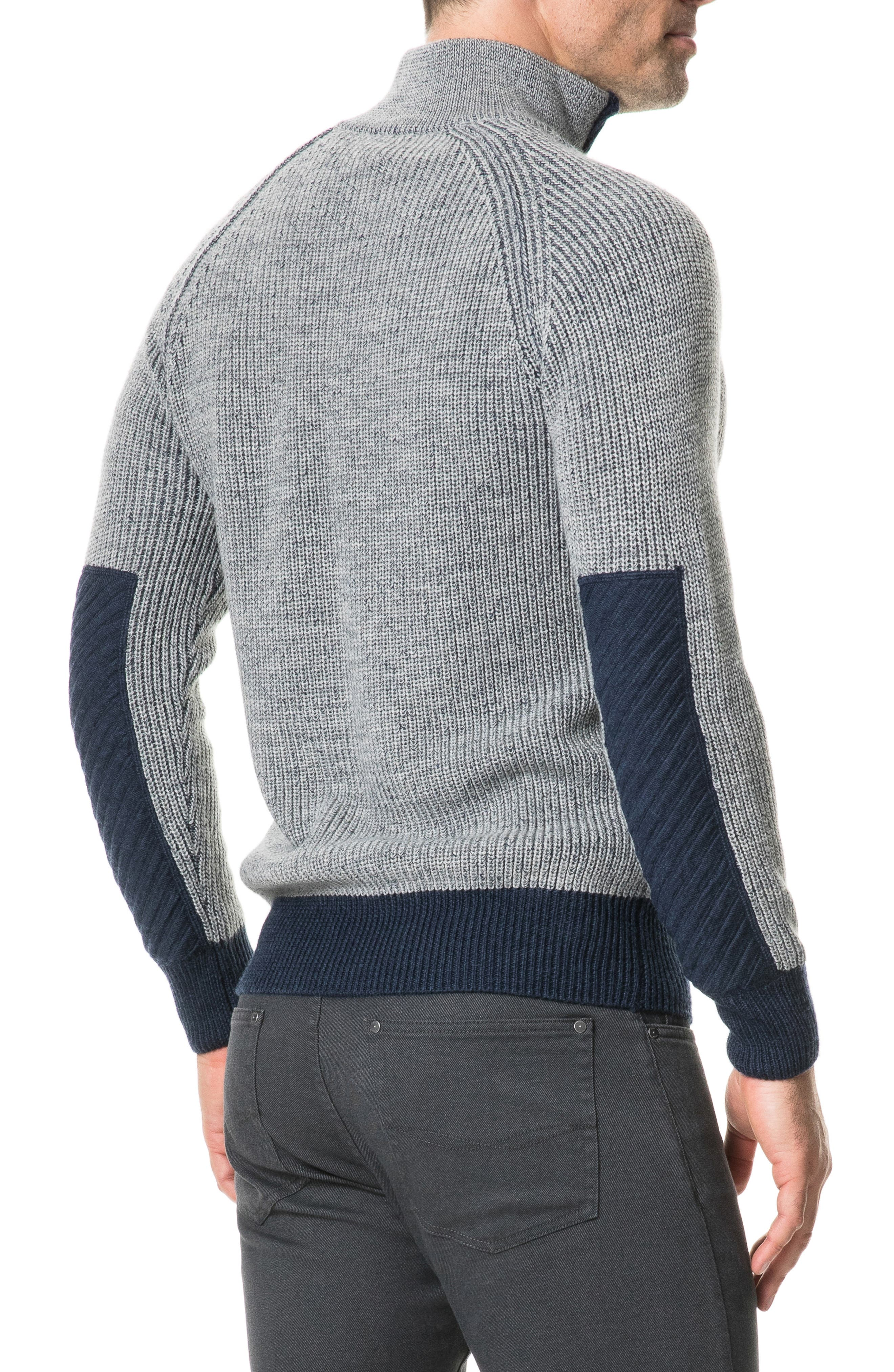 Mackinder Quarter Zip Merino Wool Sweater,                             Alternate thumbnail 2, color,                             268